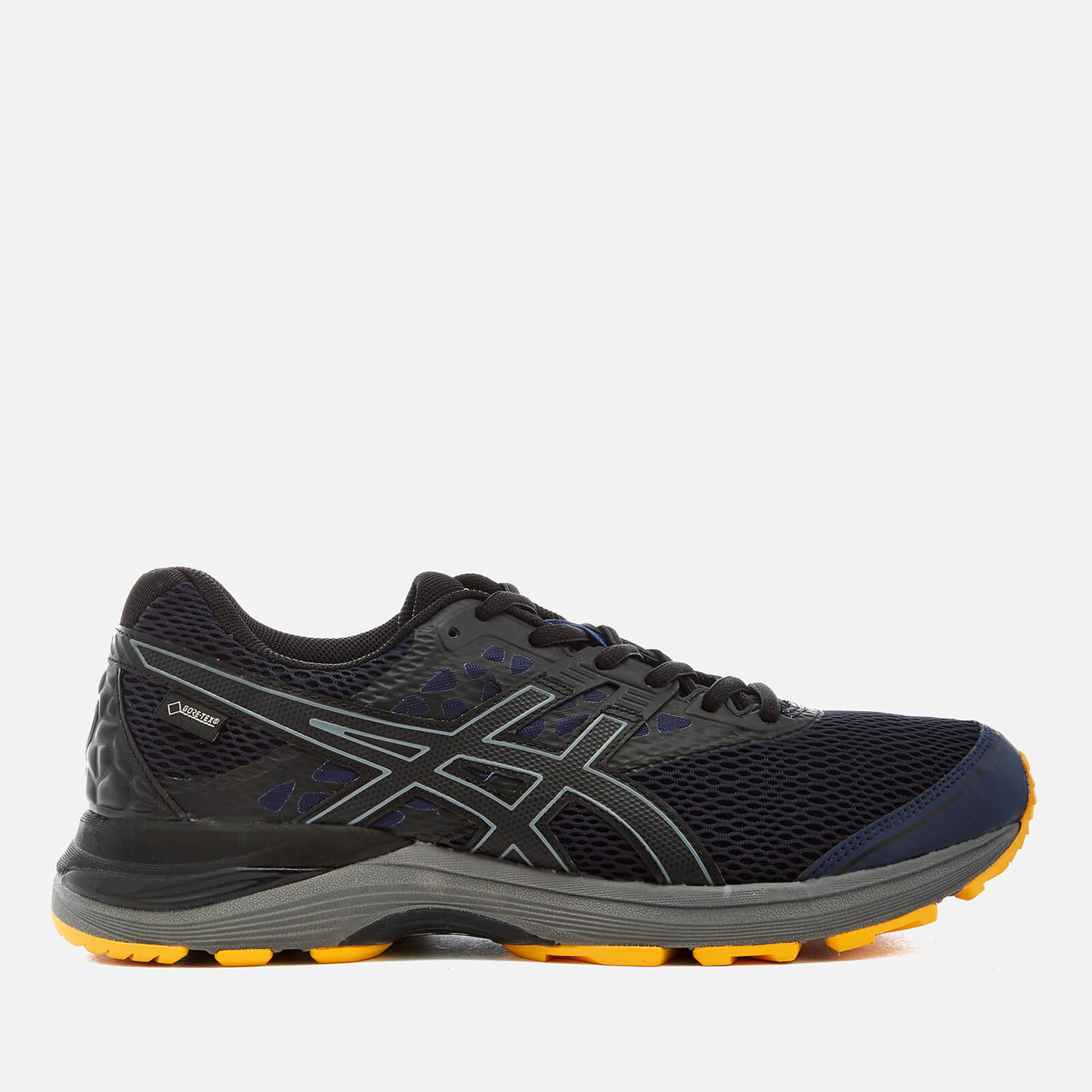 Asics Men's Running Gel Pulse 9 GTX - Winter Running Trainers -  Peacoat/Black/Gold Fusion