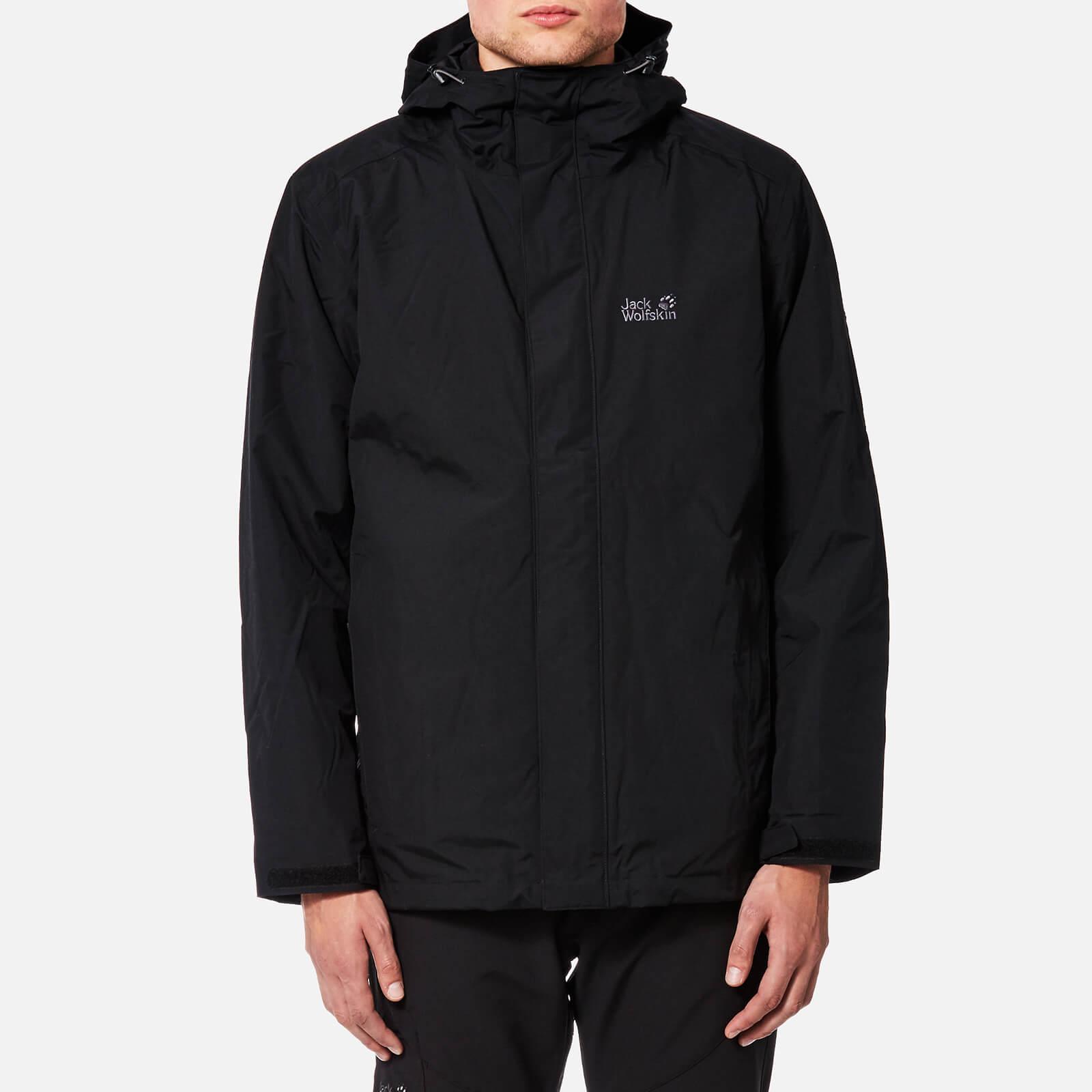 e6687a51d Jack Wolfskin Men's Iceland 3-in-1 Jacket - Black