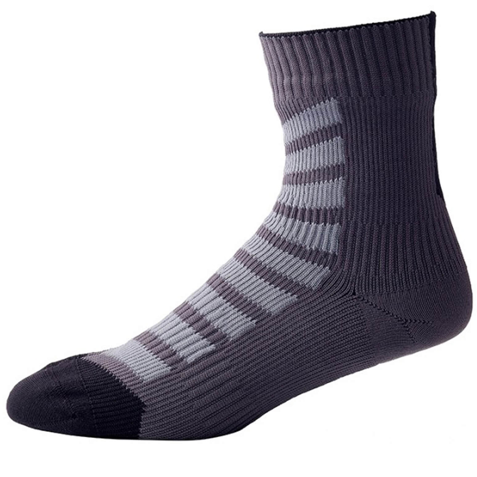 Sealskinz MTB Ankle Socks with Hydrostop - Black/Anthracite