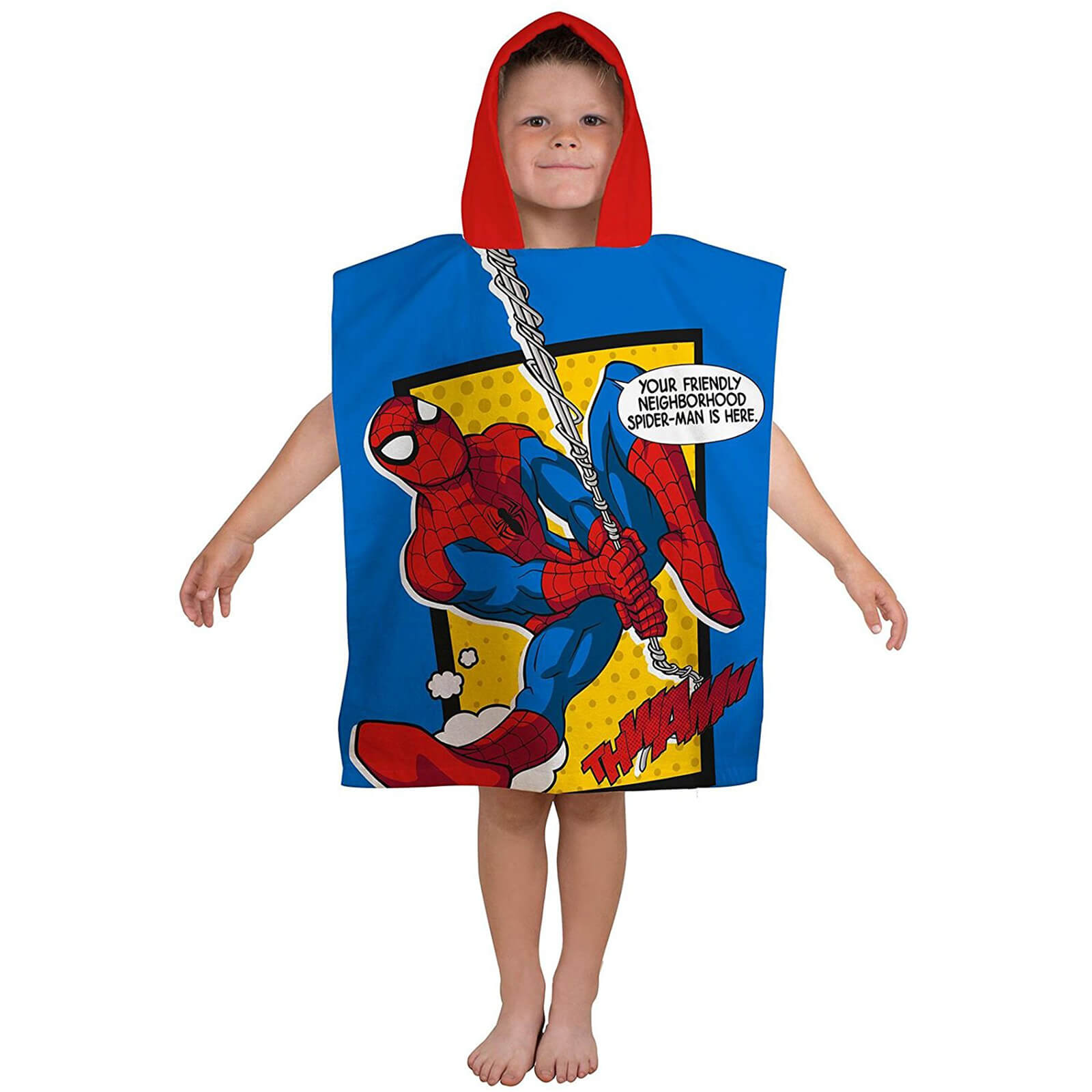 Disney Marvel Ultimate Spider-Man Webhead Ponch Towel