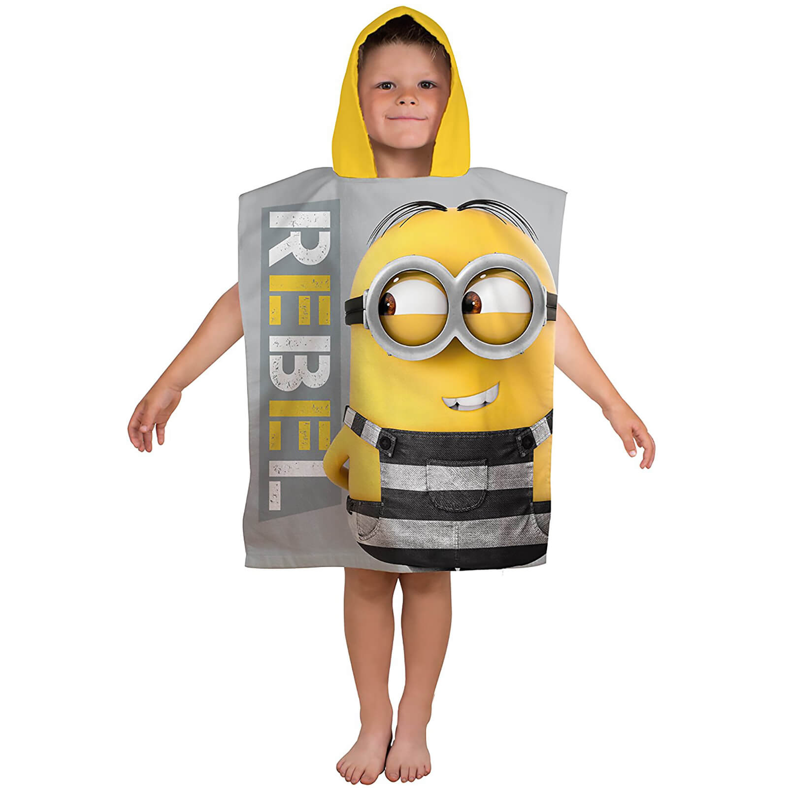 Universal Despicable Me Jailbird Poncho Towel