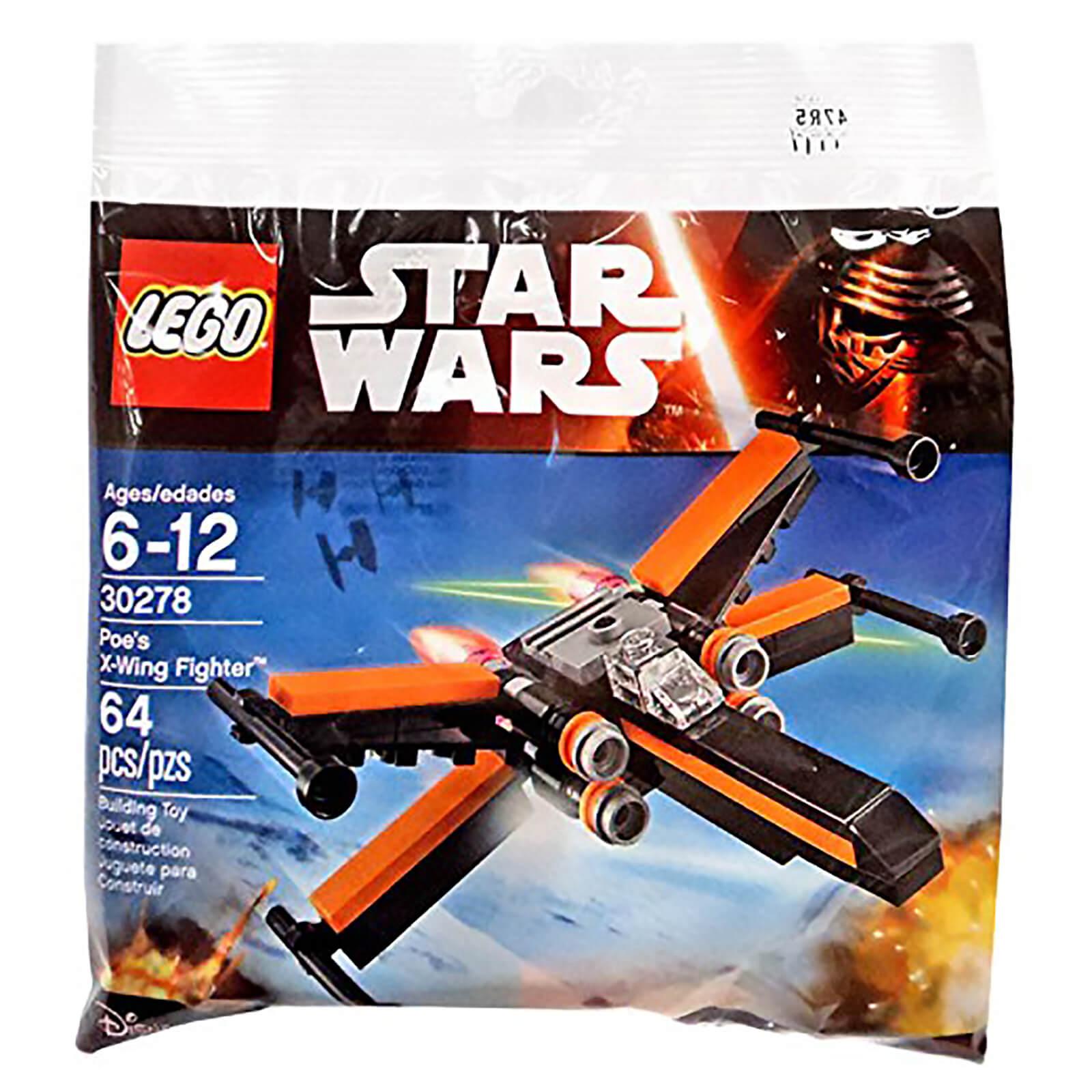 Lego Star Wars Poes X Wing Fighter 30728 Toys Zavvi