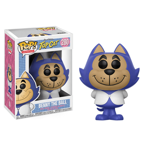Hanna Barbera Benny the Ball Pop! Vinyl Figure