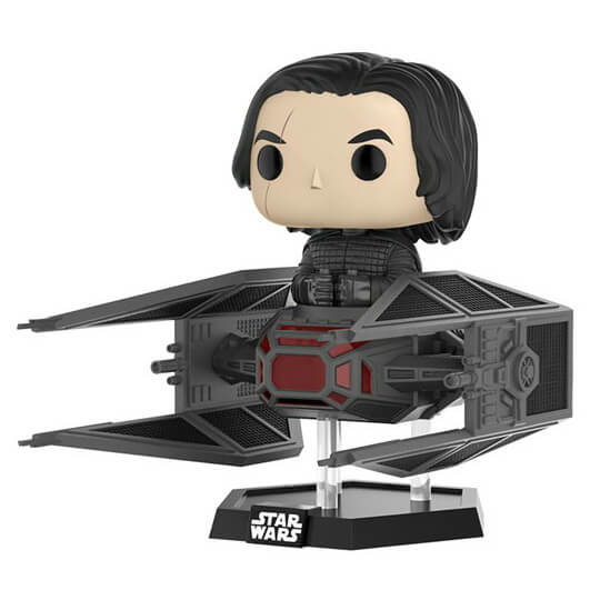 Star Wars Kylo Ren in Tie Fighter Pop! Deluxe Figure