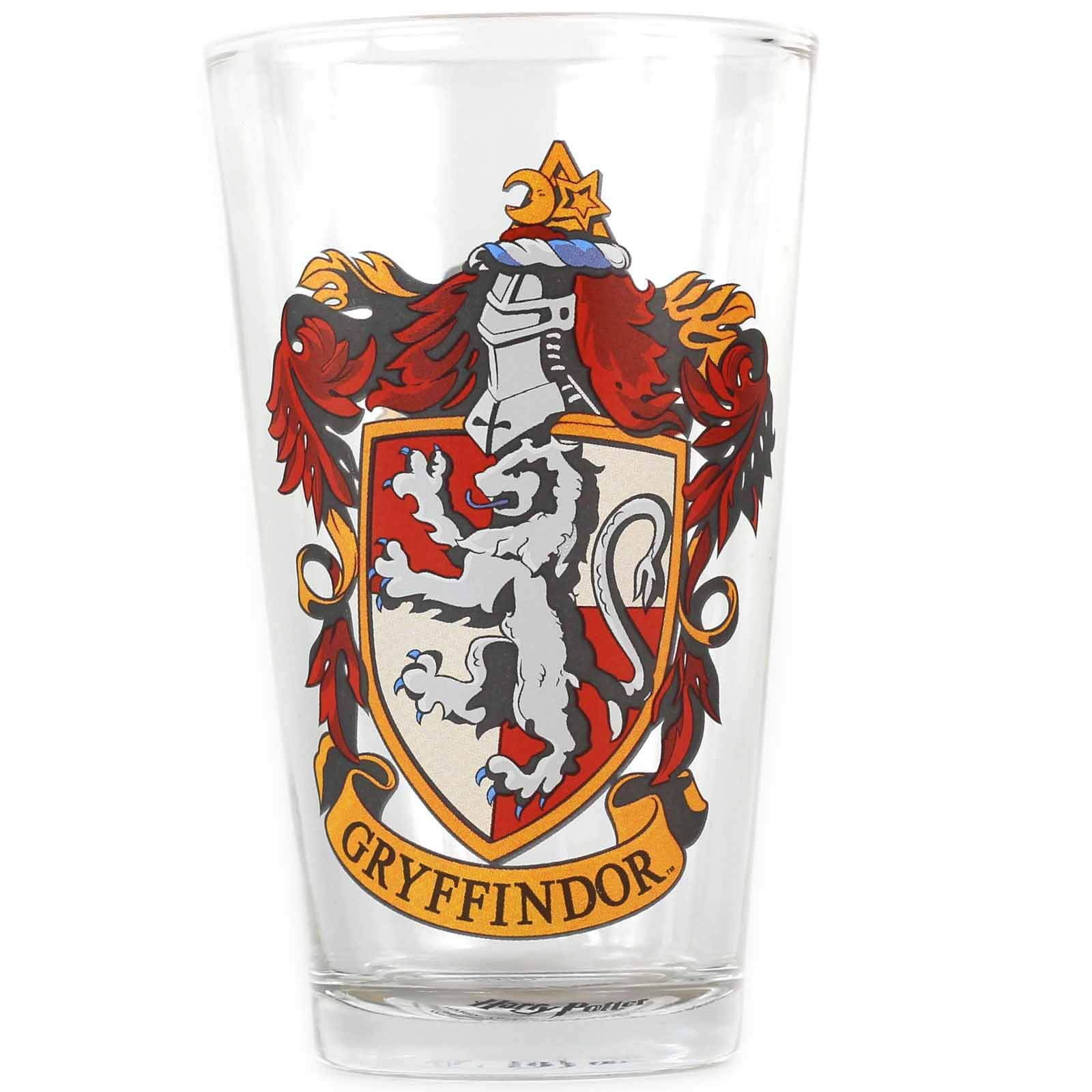 Harry Potter Gryffindor Crest Large Glass in Gift Box