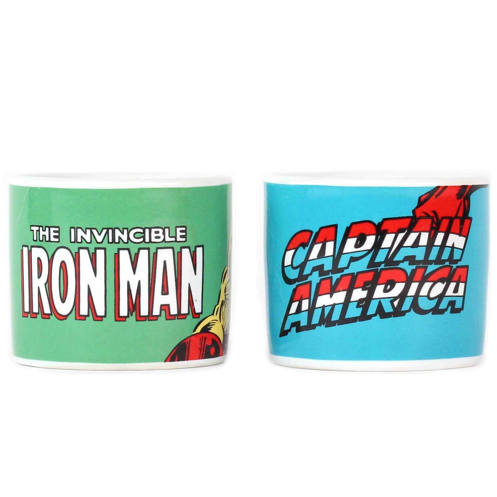 Marvel Captain America Set of 2 Egg Cups