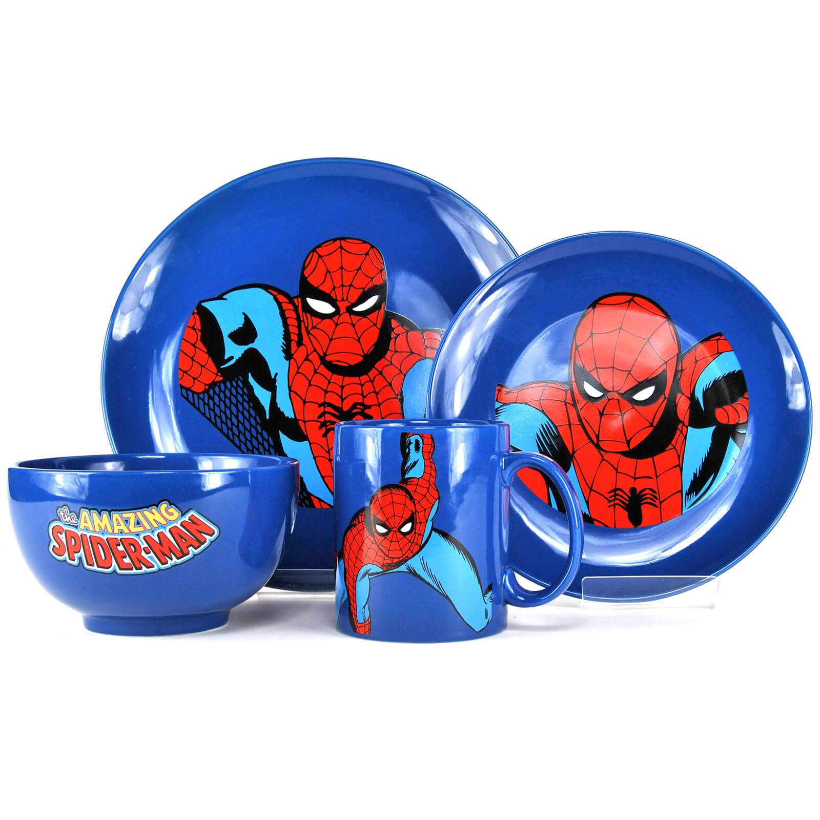 Marvel Spiderman 4 Piece Dinner Set