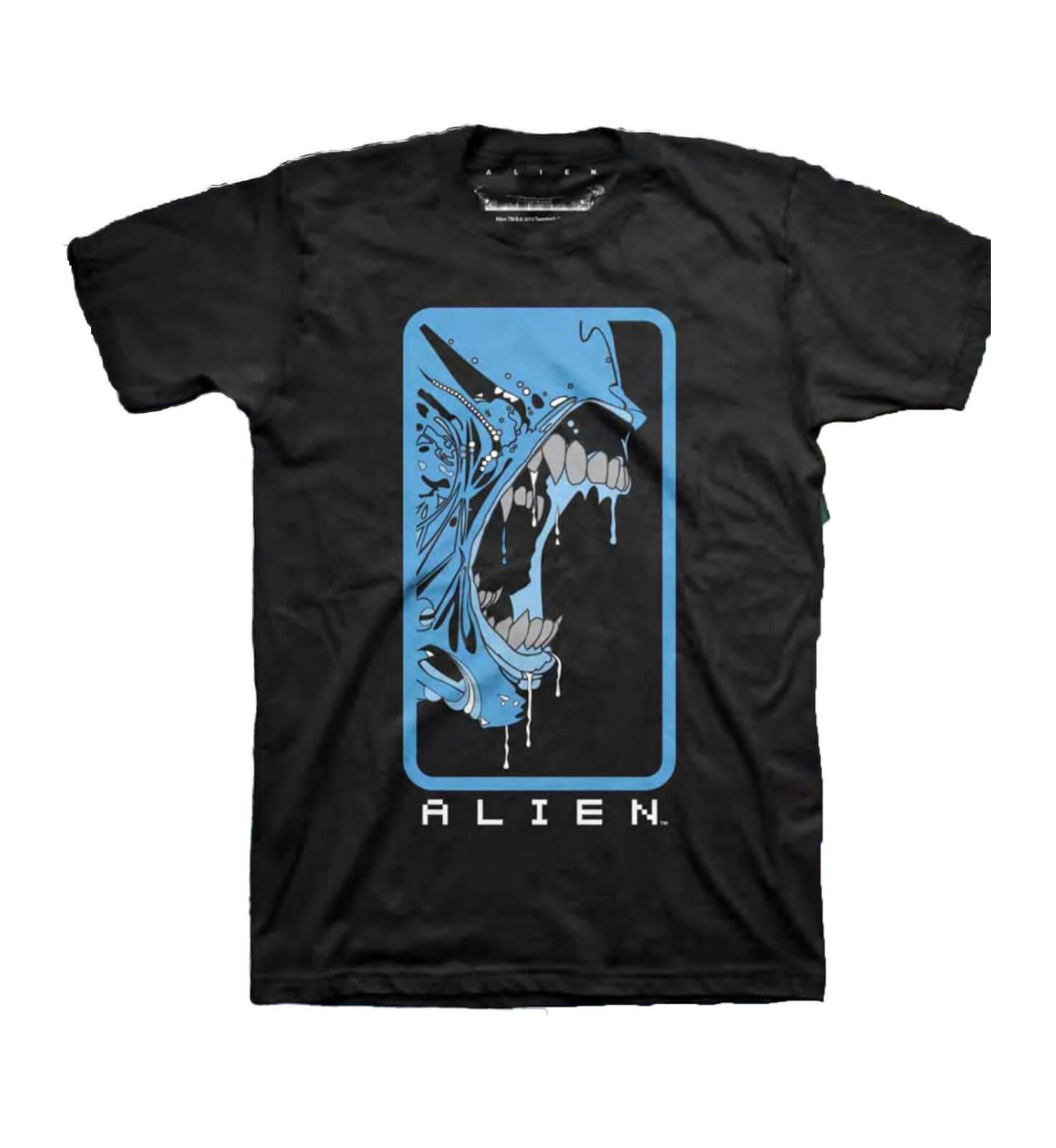 Alien Bluescale Retro Print Men