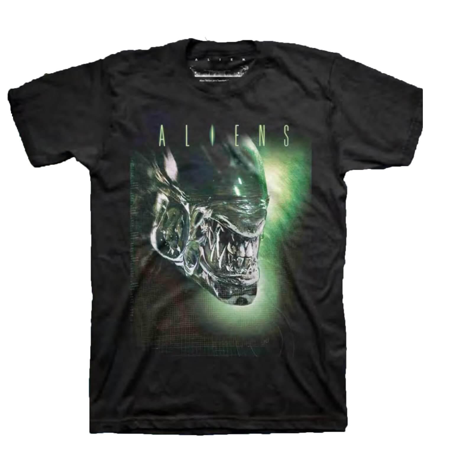 Aliens Xenomorph Mens Black T Shirt My Geek Box
