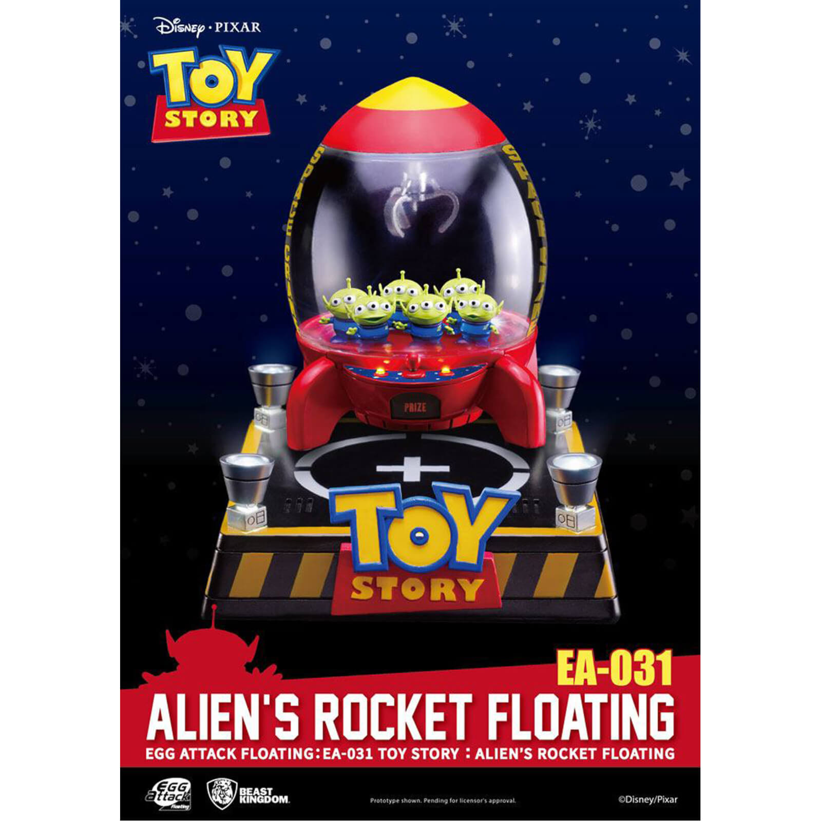 Beast Kingdom Disney Toy Story Egg Attack Alien