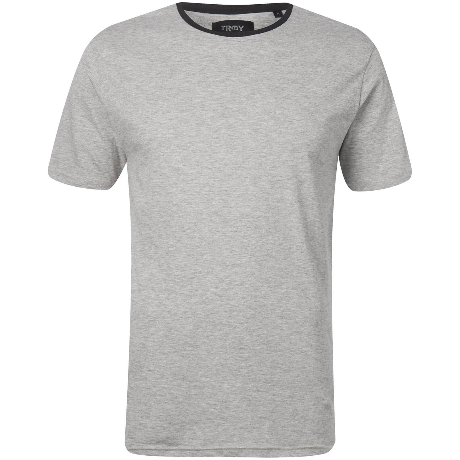 4fe28b195e21 T-Shirt Homme Elias Ringer - Gris