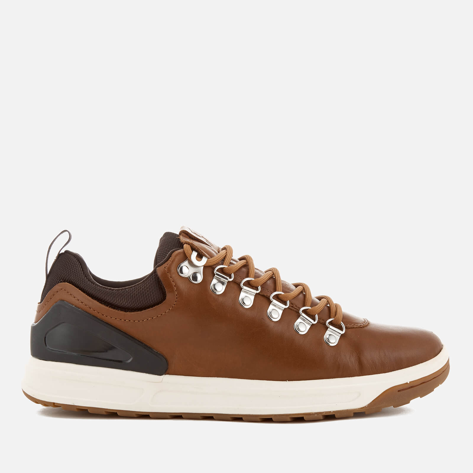 3b68fc0ce63 Polo Ralph Lauren Men s Adventure 100 Leather Hiking Trainers - Deep Saddle  Tan - Free UK Delivery over £50