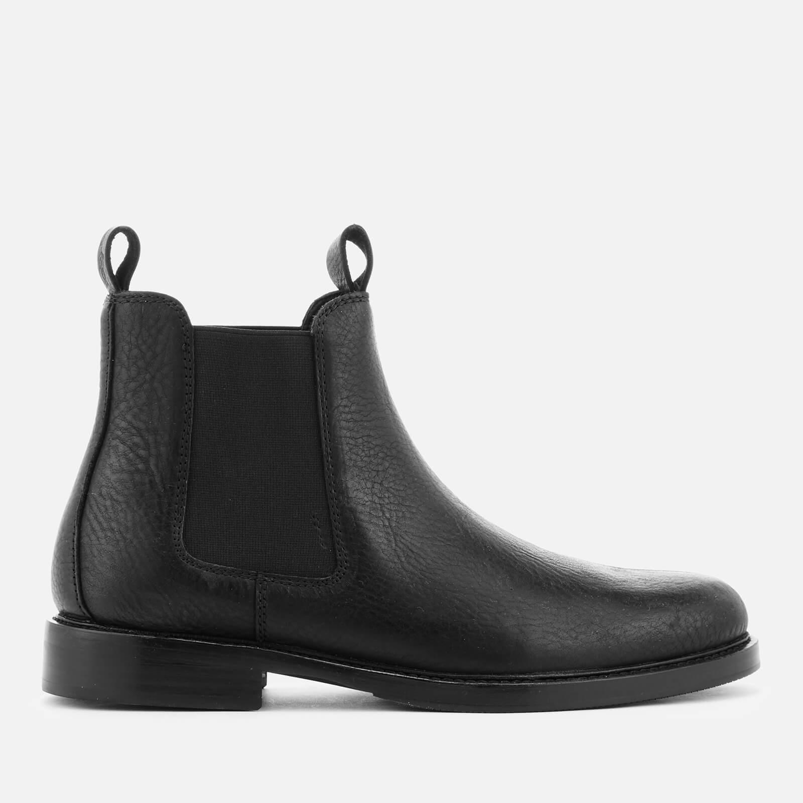 Normanton Leather Chelsea Boots - Black
