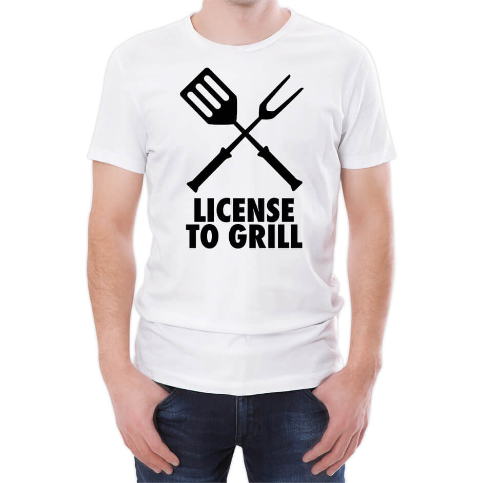 Tongs Licensed To Grill Men