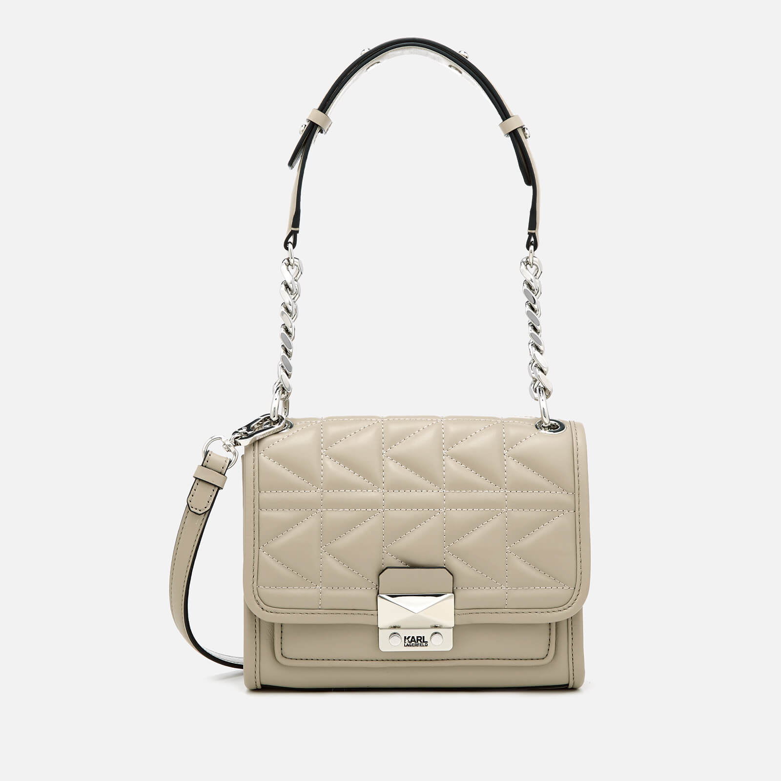 6f3df864ace2 Karl Lagerfeld Women s K Kuilted Mini Handbag - Earth - Free UK Delivery  over £50