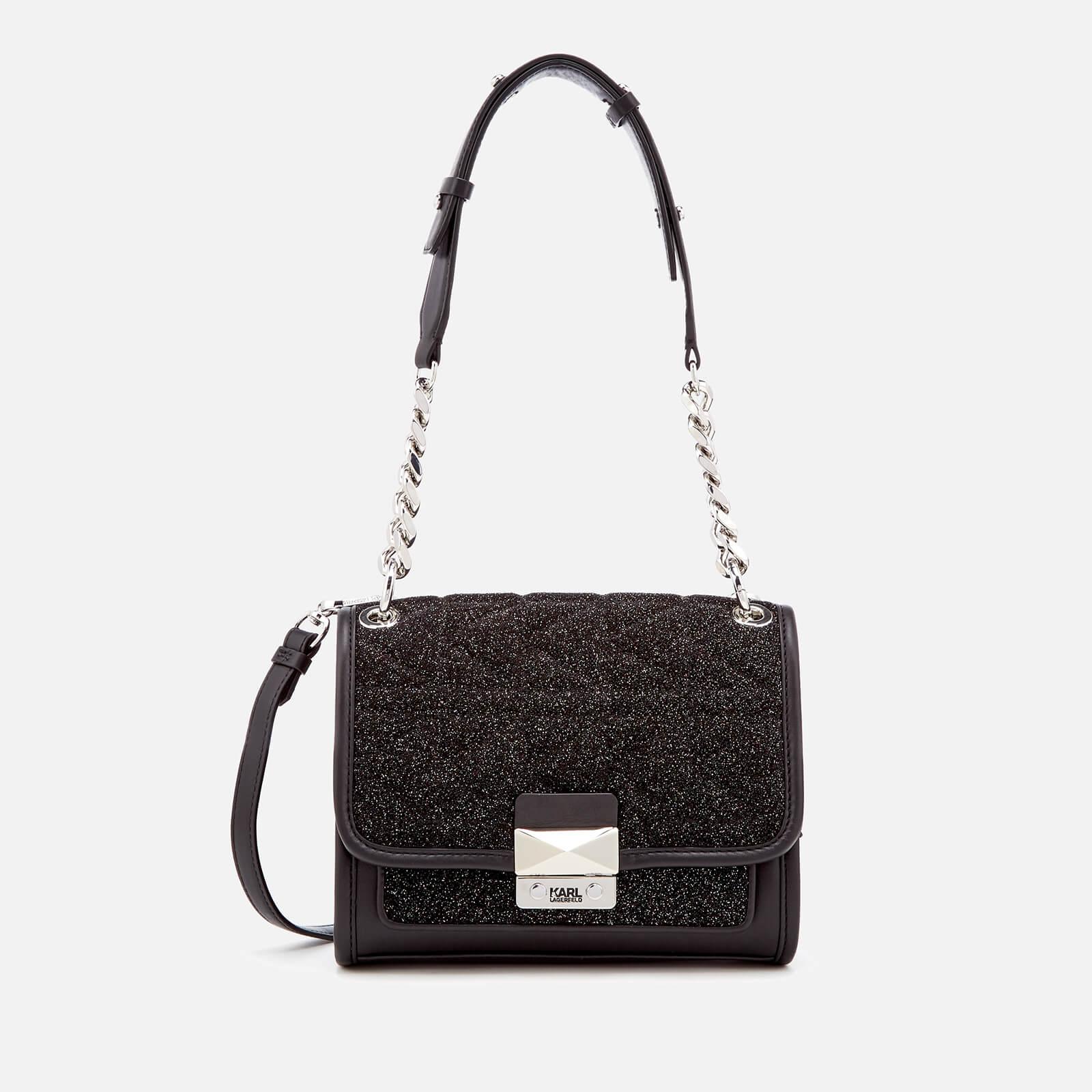 1eb615aebf81 Karl Lagerfeld Women s K Kuilted Caviar Mini Handbag - Multi - Free ...