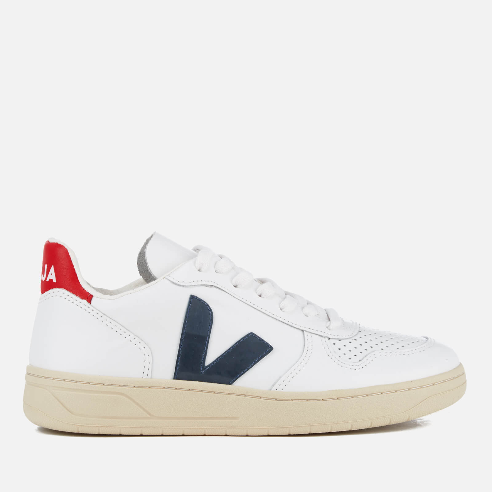 Veja Women's V-10 Leather Trainers