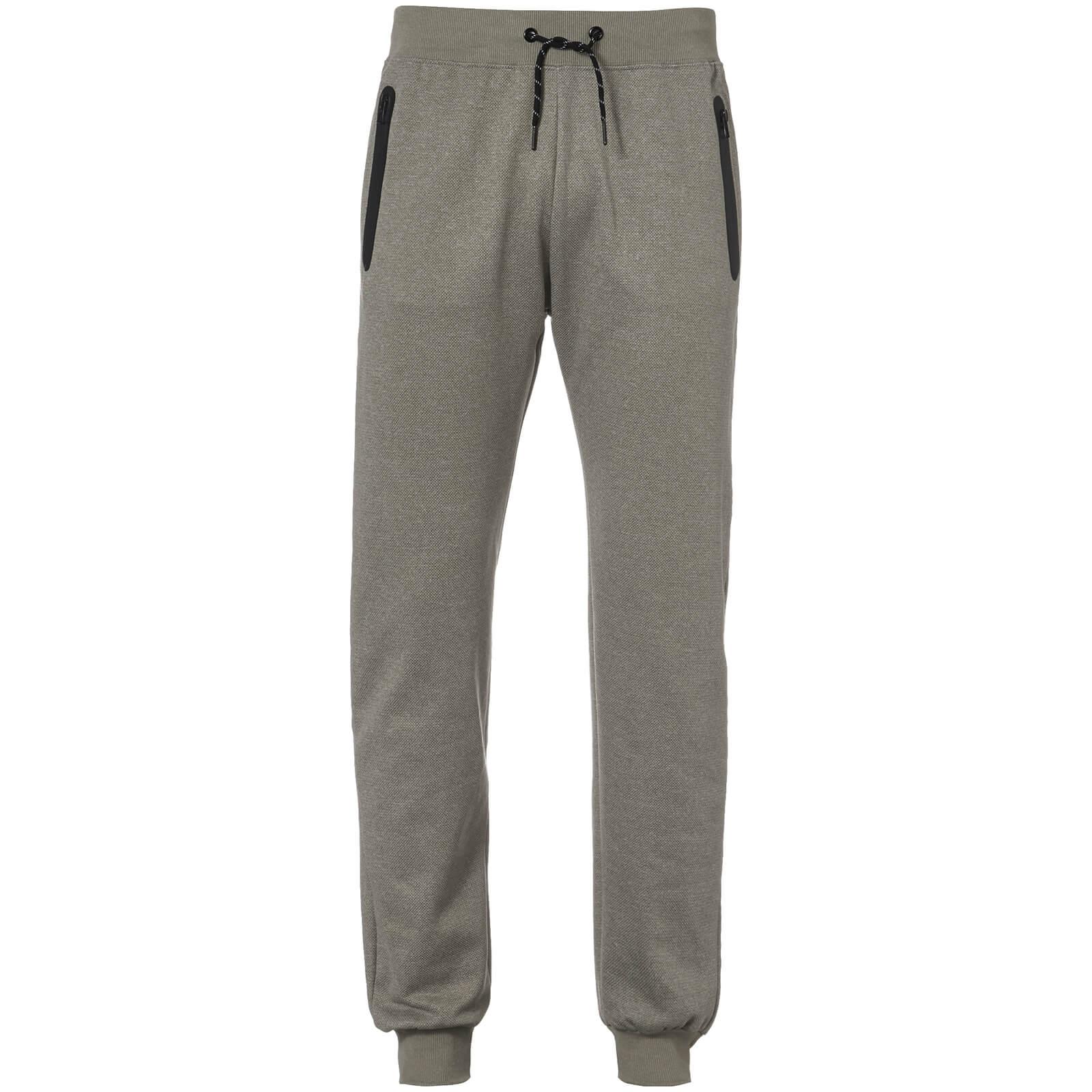 156a12cb2c1c8 Pantalon de Jogging Homme Holford Dissident - Gris Chiné Clothing ...