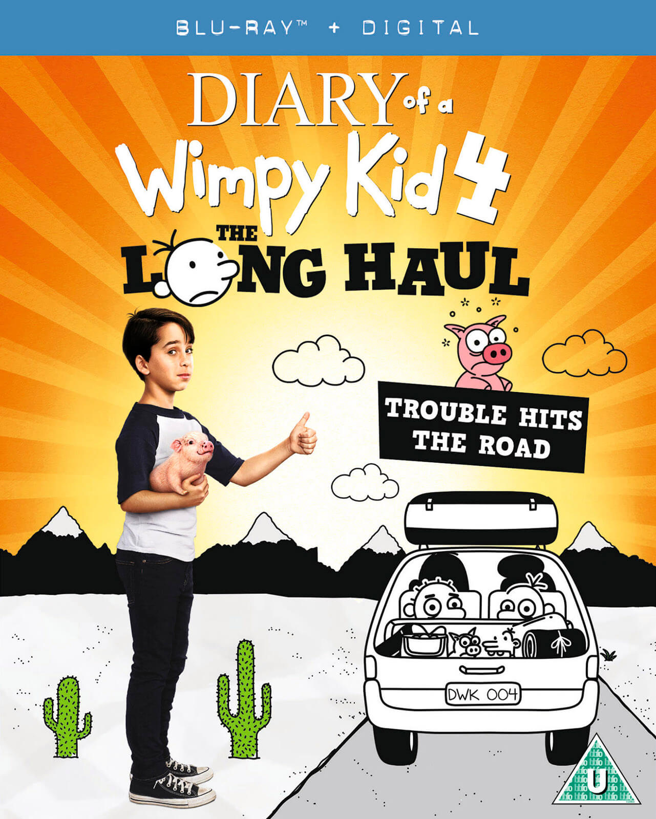 Diary Of A Wimpy Kid 4: The Long Haul (Digital UV Copy)