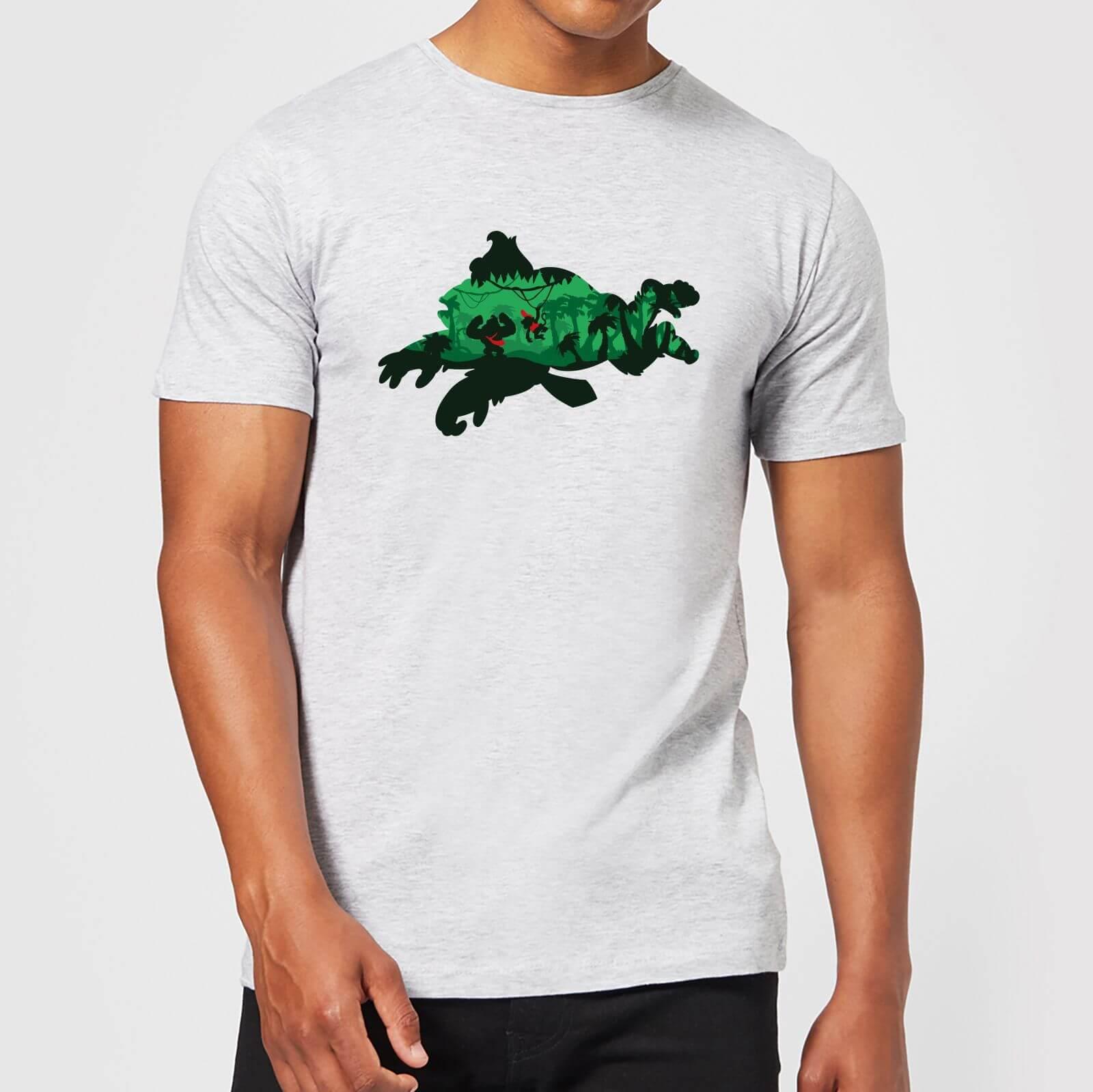 718828d2f85418 Nintendo Donkey Kong Silhouette Men s Light Grey T-Shirt