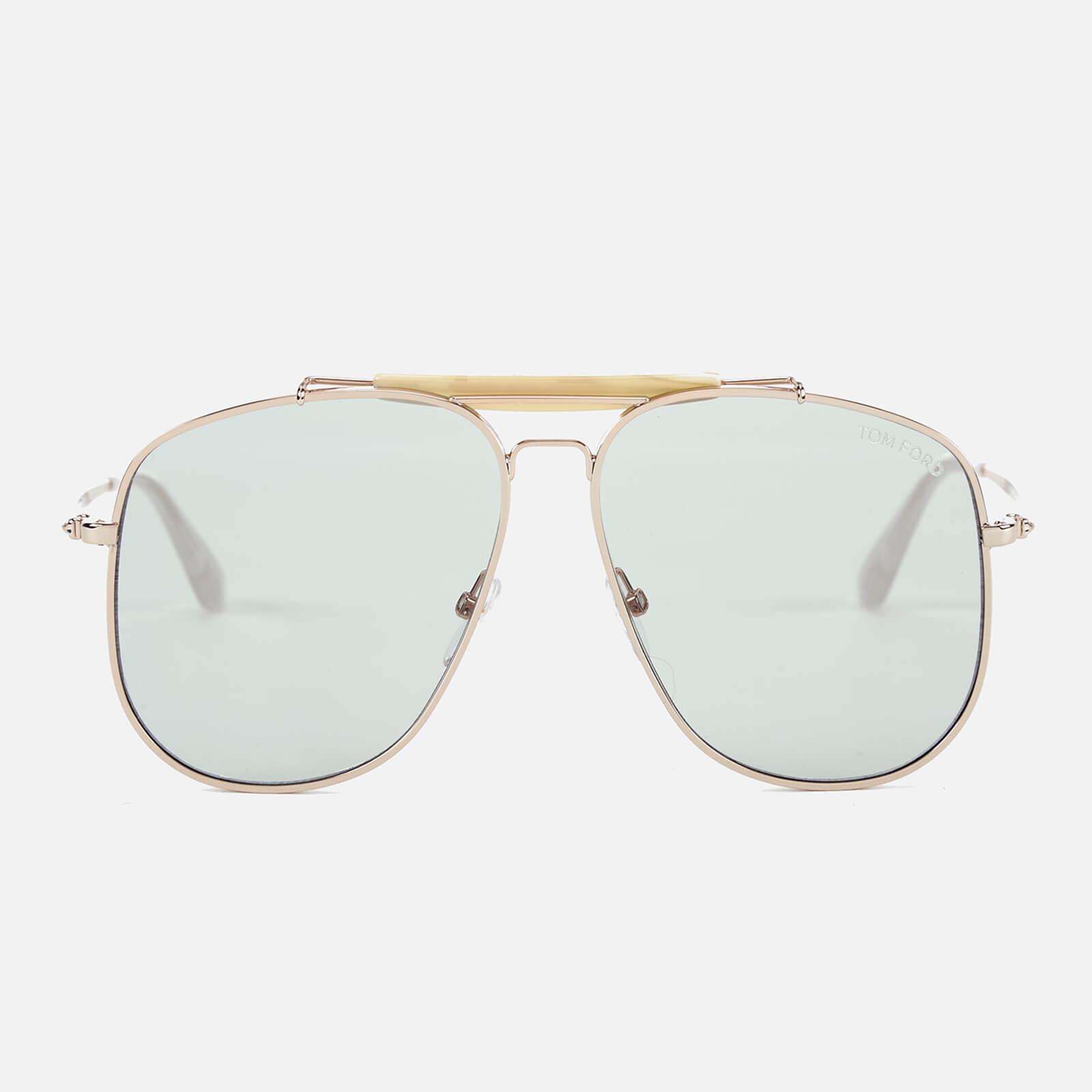 91a3291ad77 Tom Ford Men s Connor Sunglasses - Shiny Rose Gold Blue - Free UK Delivery  over £50