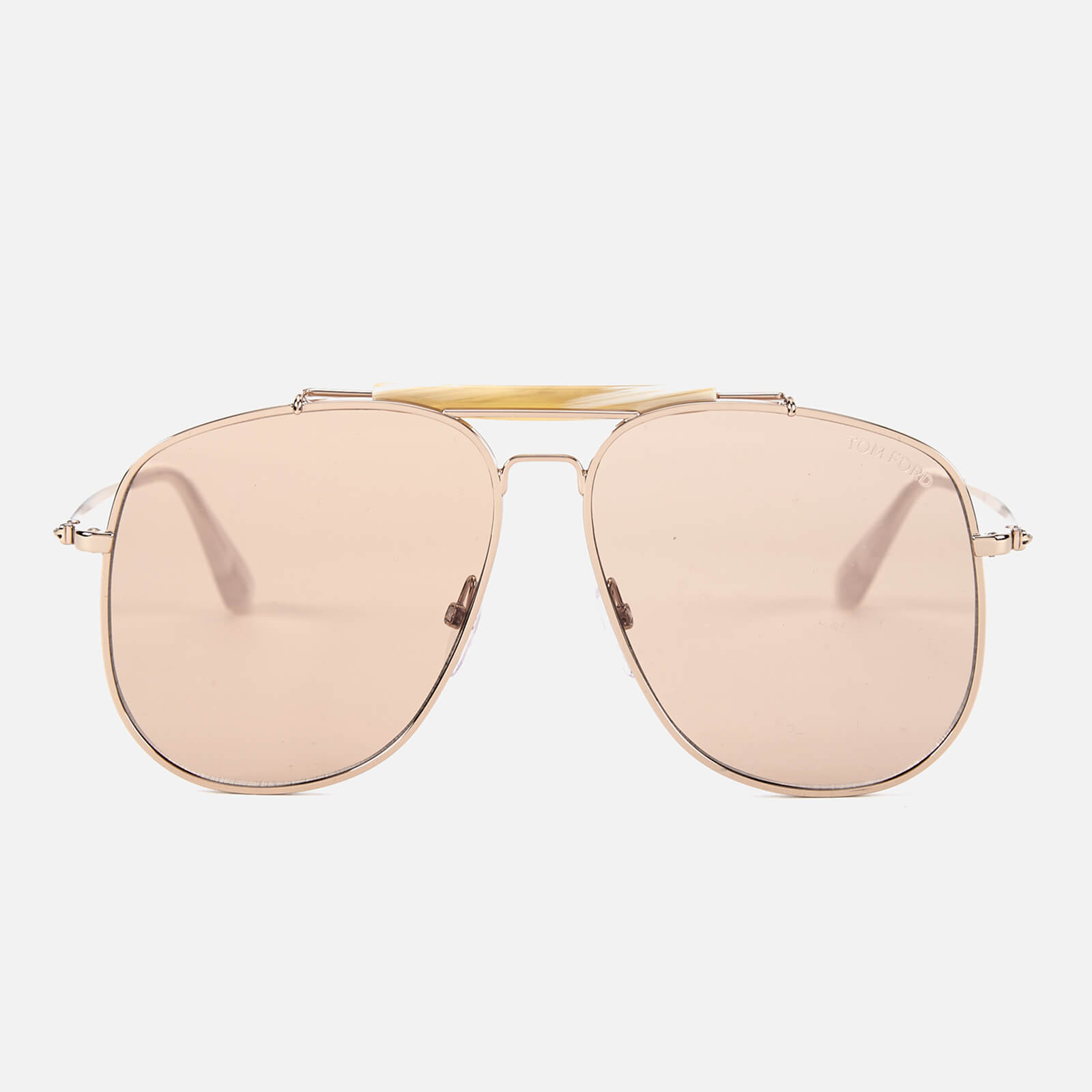 78eb5447fb8 Tom Ford Men s Connor Sunglasses - Shiny Rose Gold Violet - Free UK  Delivery over £50
