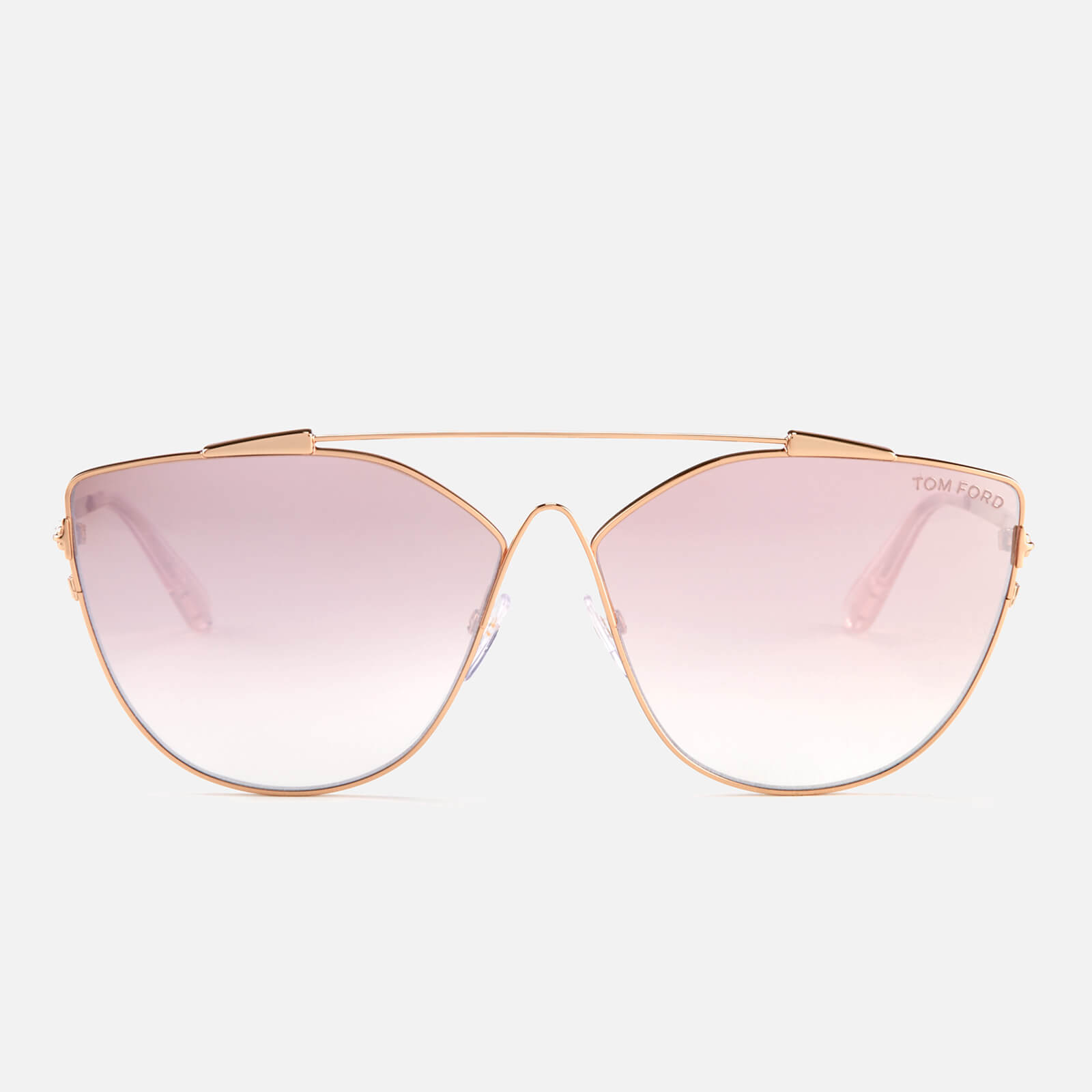 59c23c305565 Tom Ford Women's Jacquelyn Sunglasses - Gold/Mirror Violet Womens  Accessories | TheHut.com
