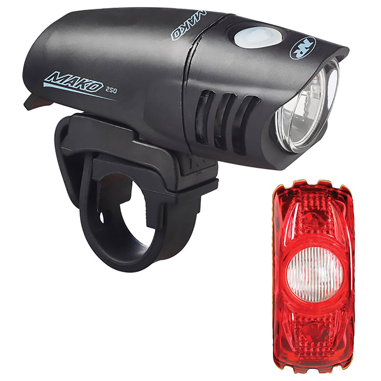 Niterider Mako 250 Front and CherryBomb 35 Rear Light Set
