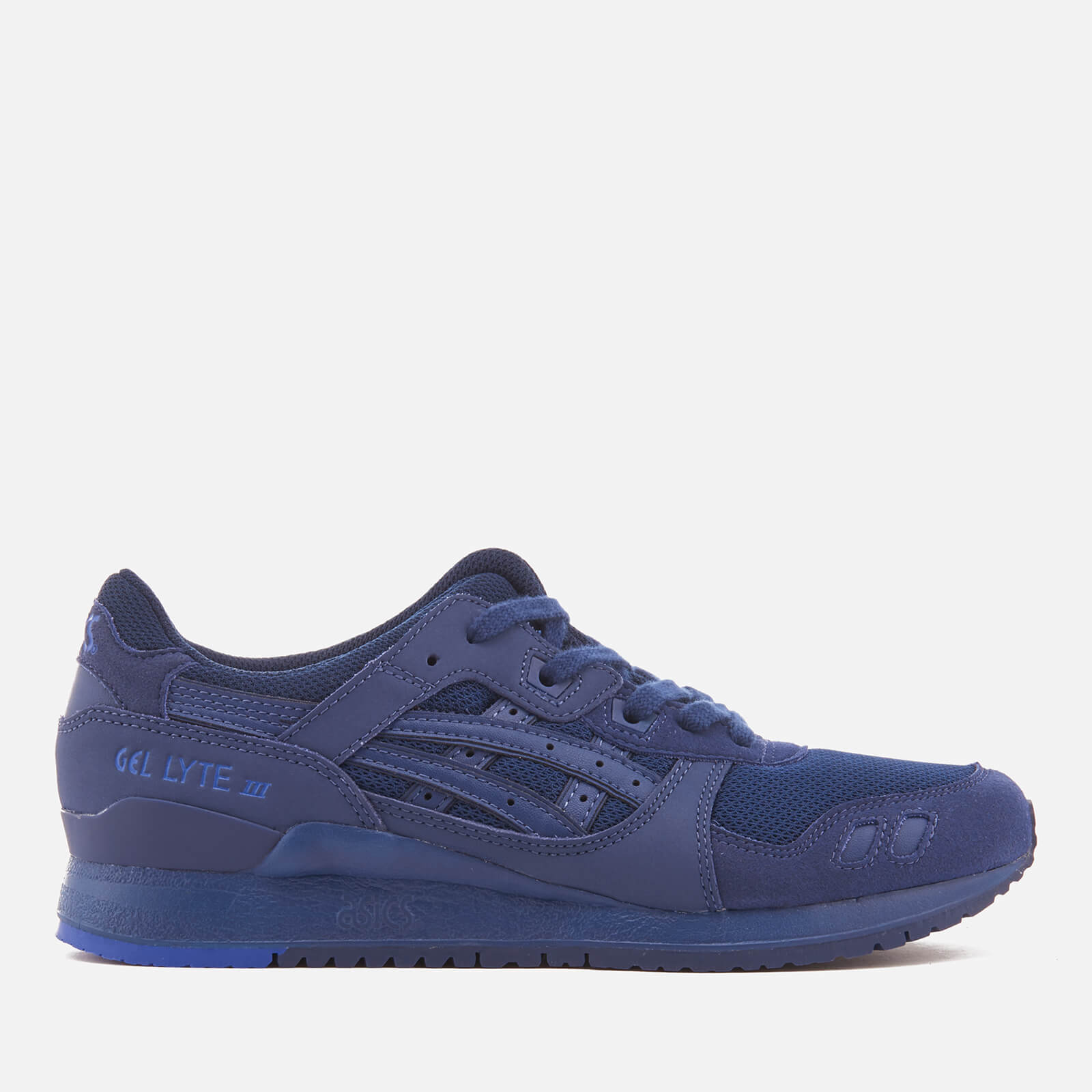 c1fe03b0de64 Asics Lifestyle Men s Gel-Lyte III Trainers - Indigo Blue Indigo Blue -  Free UK Delivery over £50