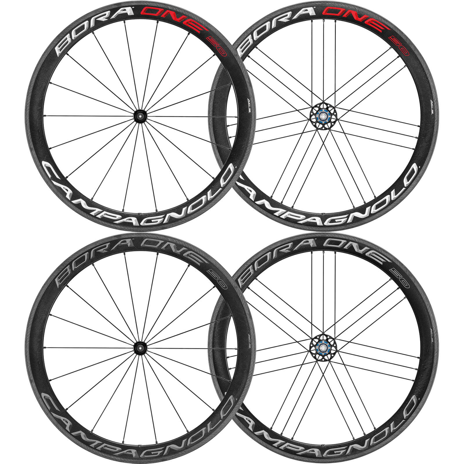 CAMPAGNOLO BORA ONE 50 クリンチャー ホイールセット 2018