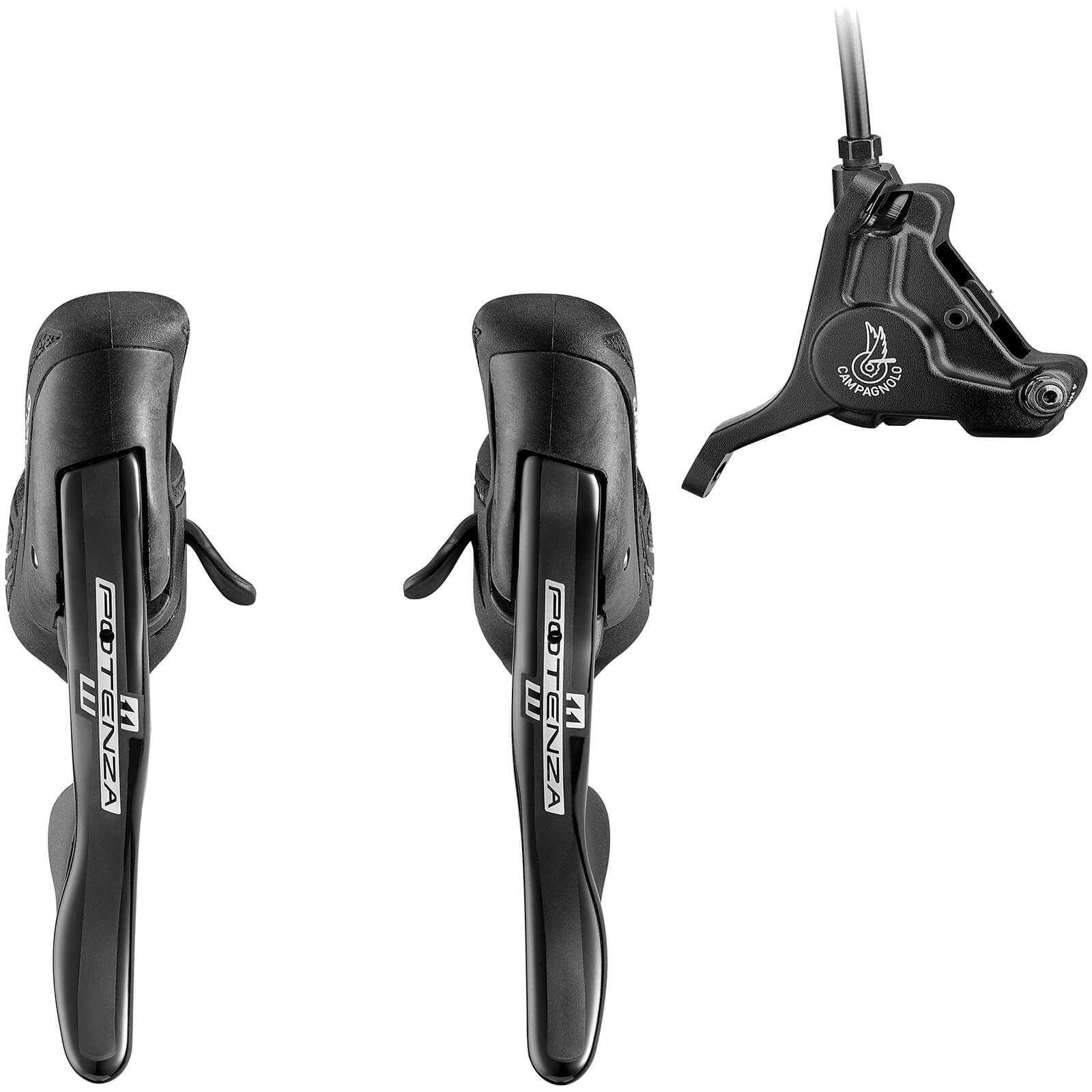 Campagnolo Potenza 11 Speed HO Ergopower Shift/Brake Lever (Including Front or Rear Caliper)