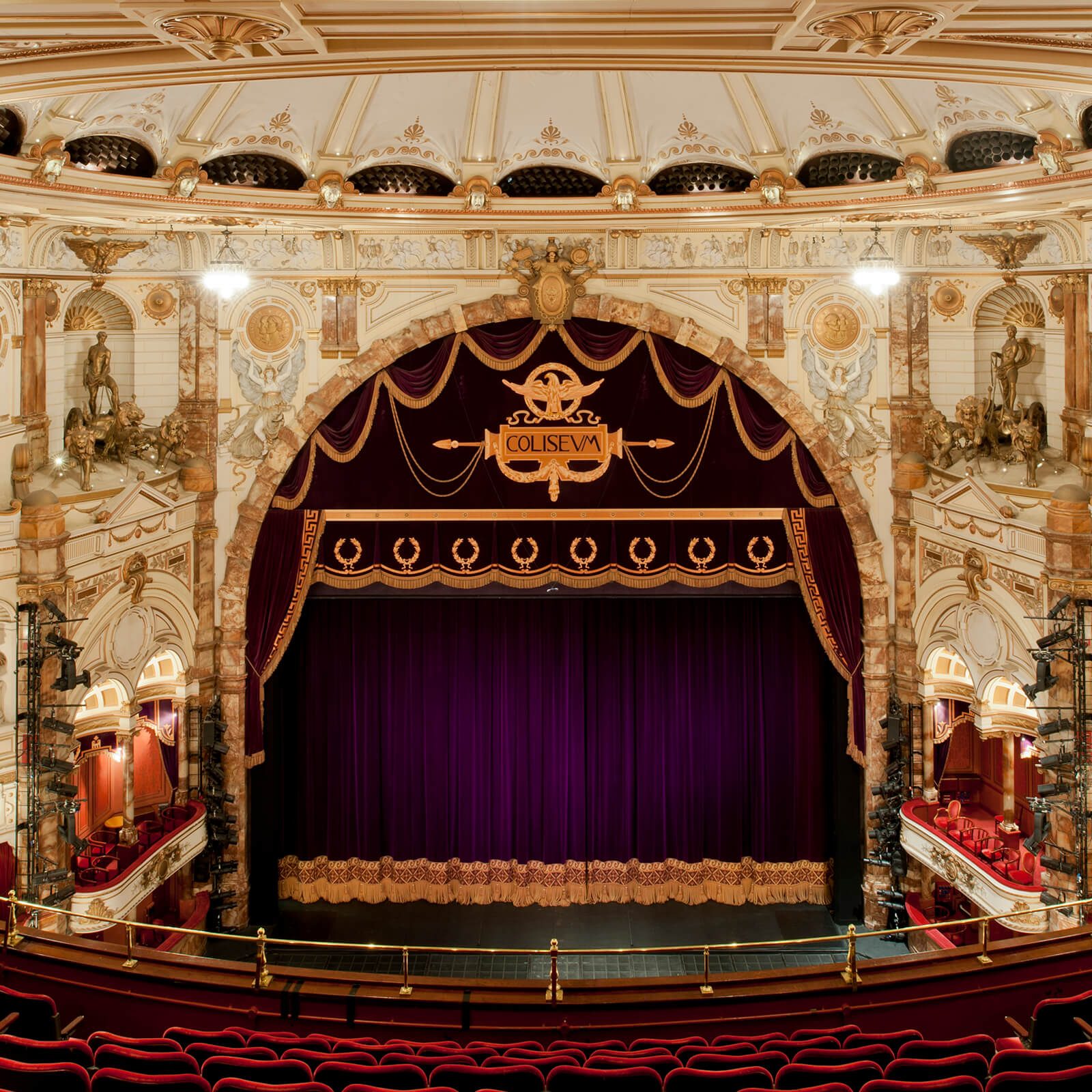 London Coliseum Tour and Cream Tea for Two, London