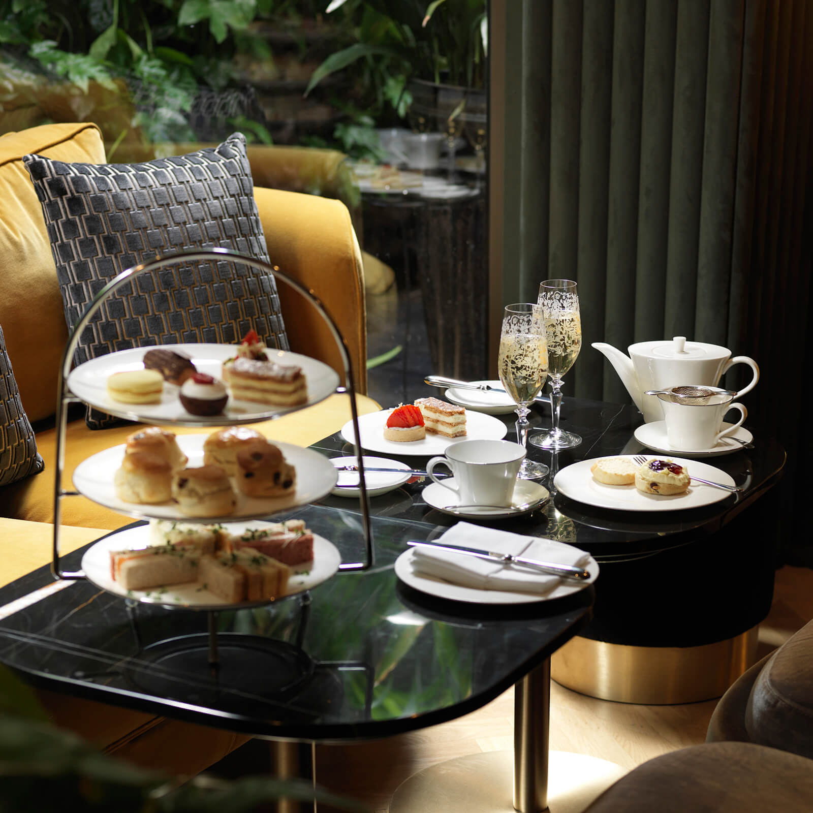 30% Off Luxury Afternoon Tea for Two at Galvin at The Athenaeum Hotel