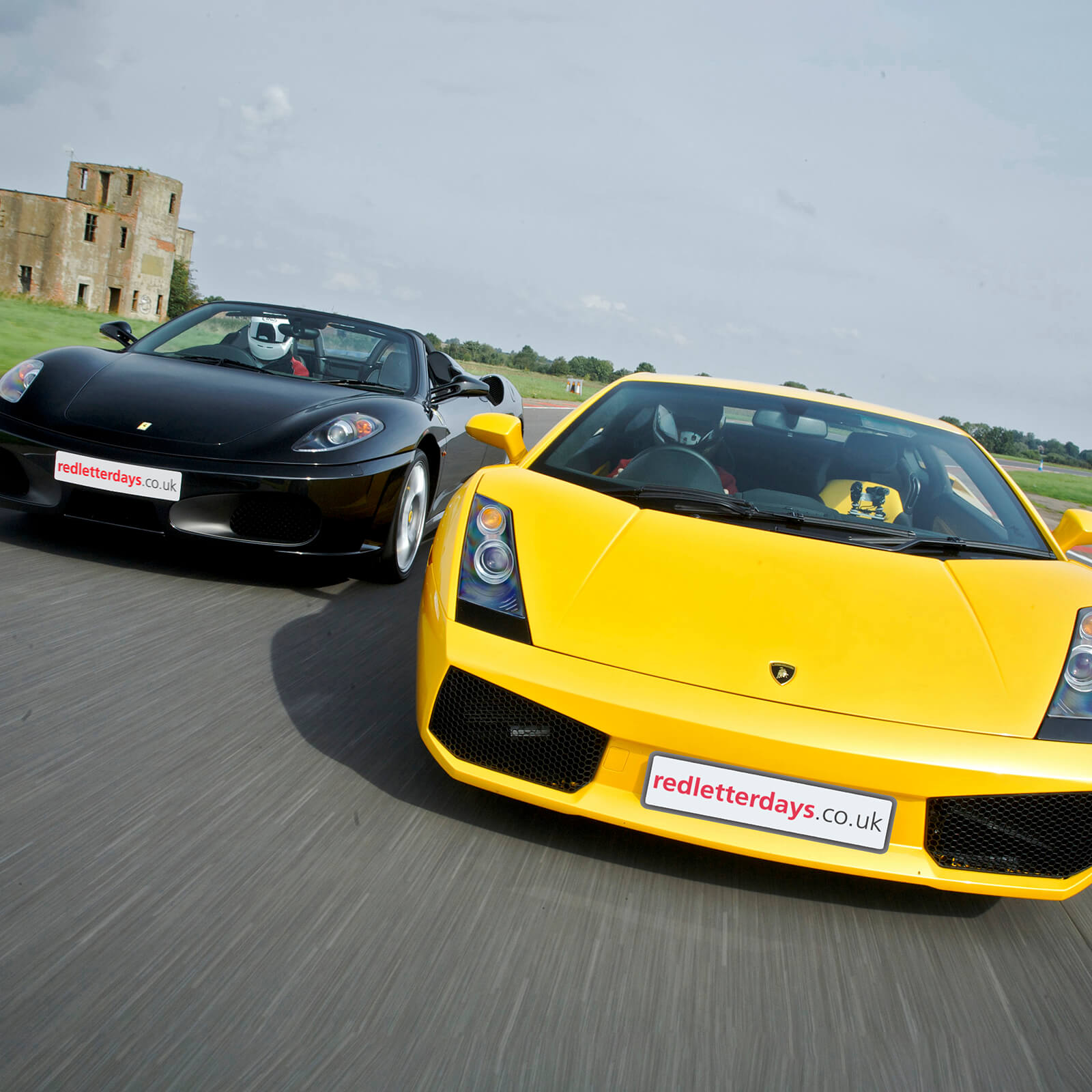 45% Off Double Supercar Thrill