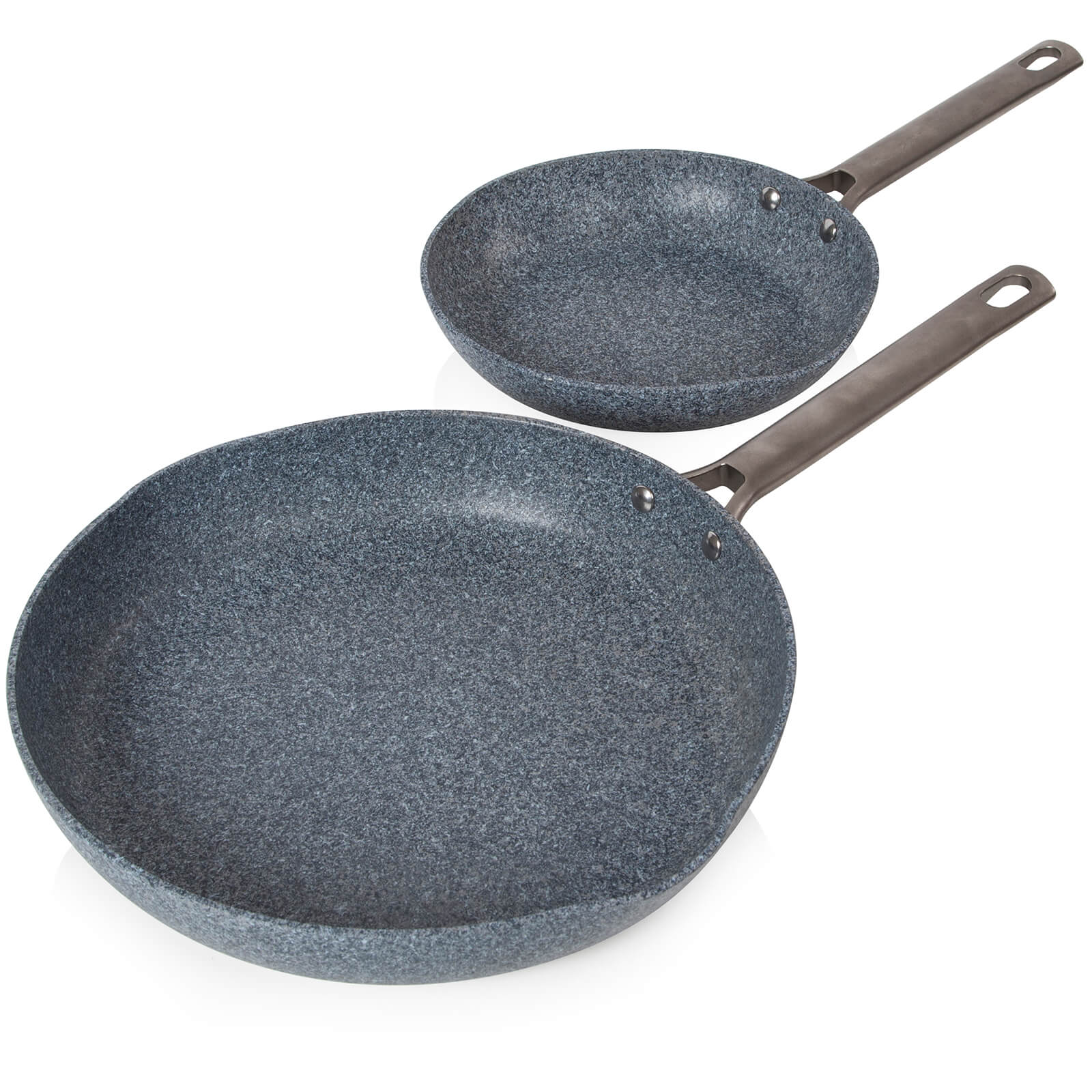 Tower T90980 Tower Granitex Frying Pan Set - Grey - 20/28cm