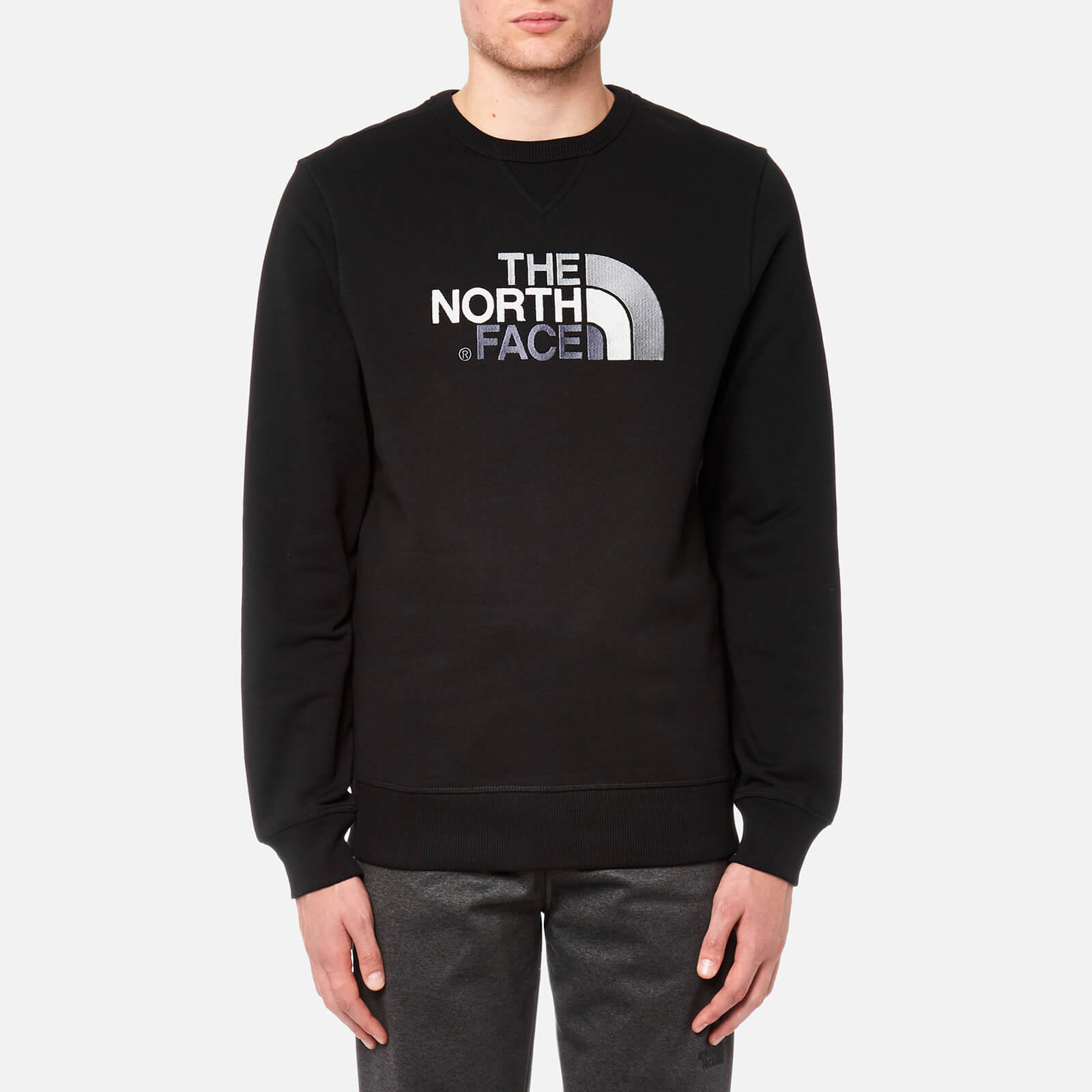 sale high quality delicate colors The North Face Men's Drew Peak Crew Neck Sweatshirt - TNF Black