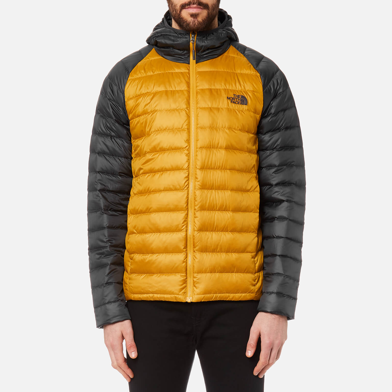 959eb48c3970 The North Face Men s Trevail Hoody - Arrowwood Yellow Asphalt Grey Mens  Clothing