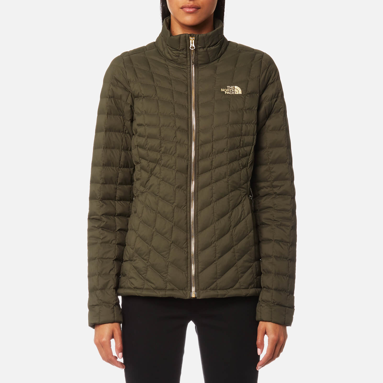e76aa6a08 The North Face Women's Thermoball® Full Zip Jacket - New Taupe Green