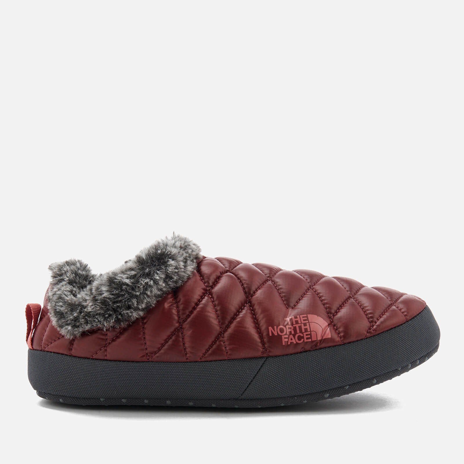 red north face slippers