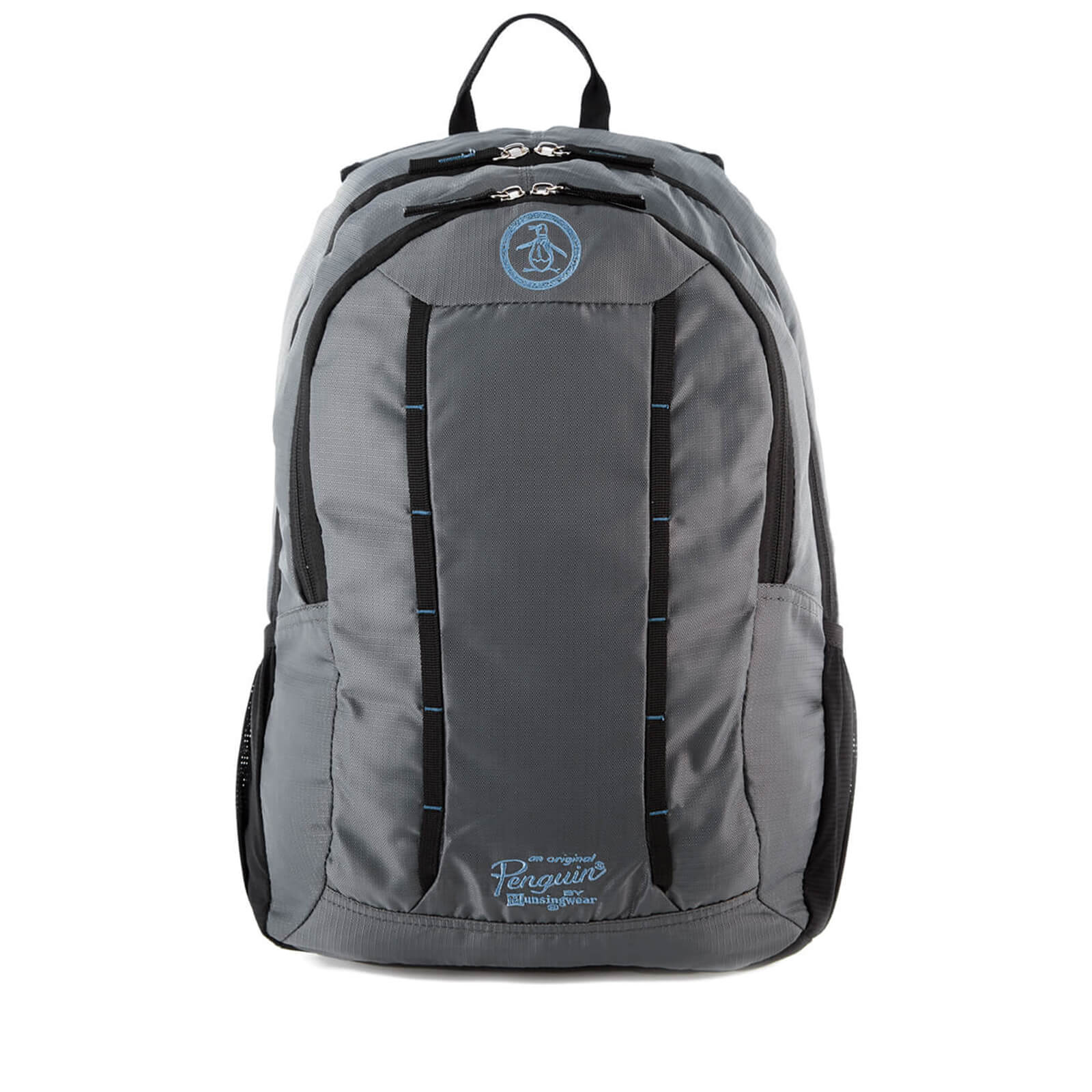Original Penguin Men S Travel Backpack Grey Charcoal