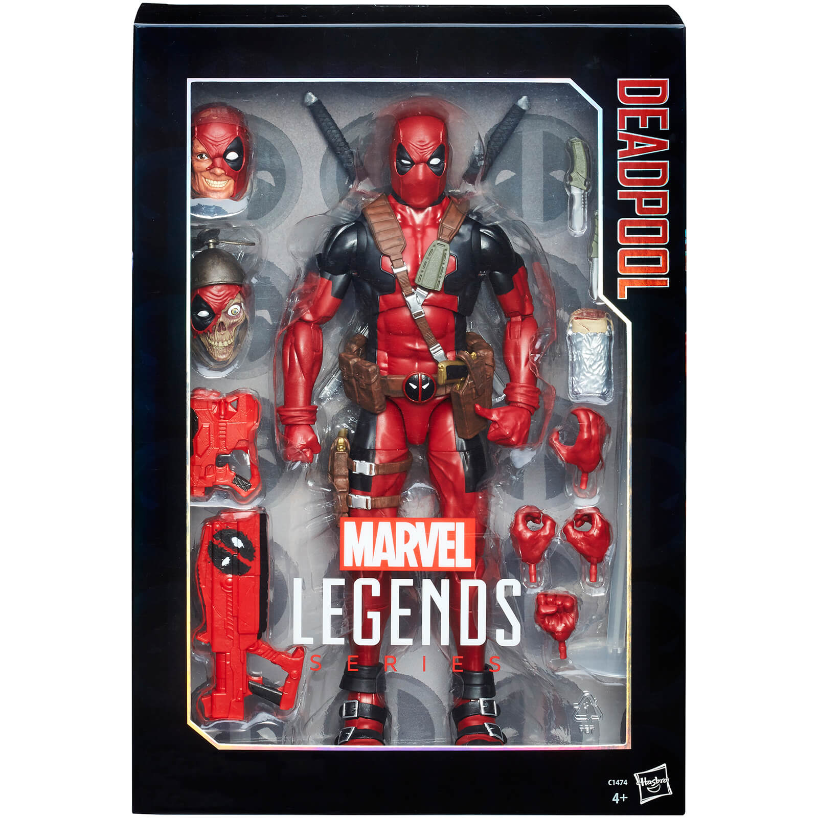 Figurine Deadpool Marvel Legends Avengers - 38 cm