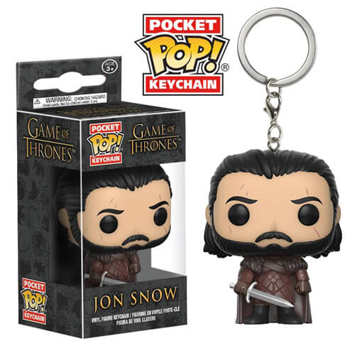 Porte-Clef Pocket Pop! Jon Snow - Game of Thrones