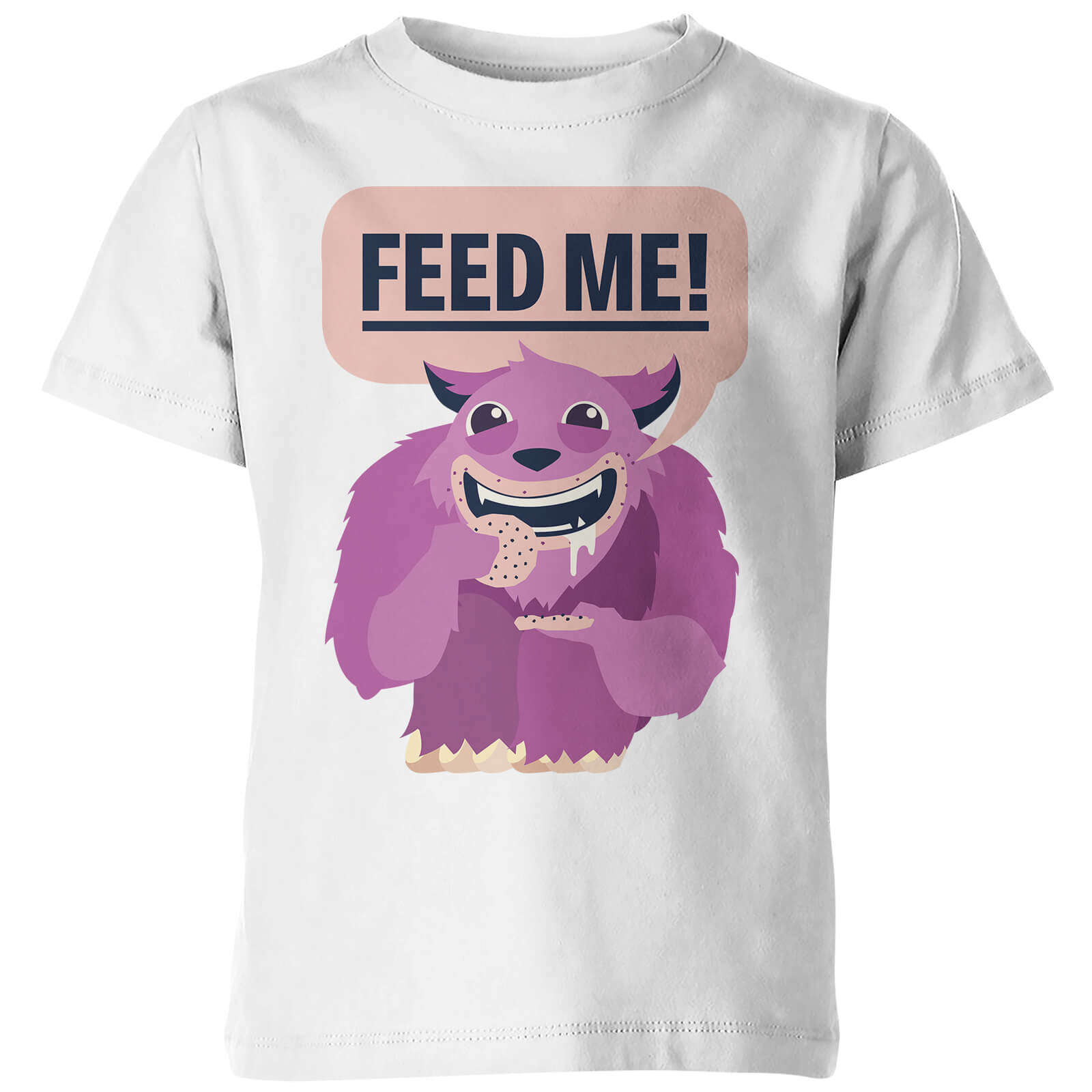 My Little Rascal Kids Feed Me! White T-Shirt
