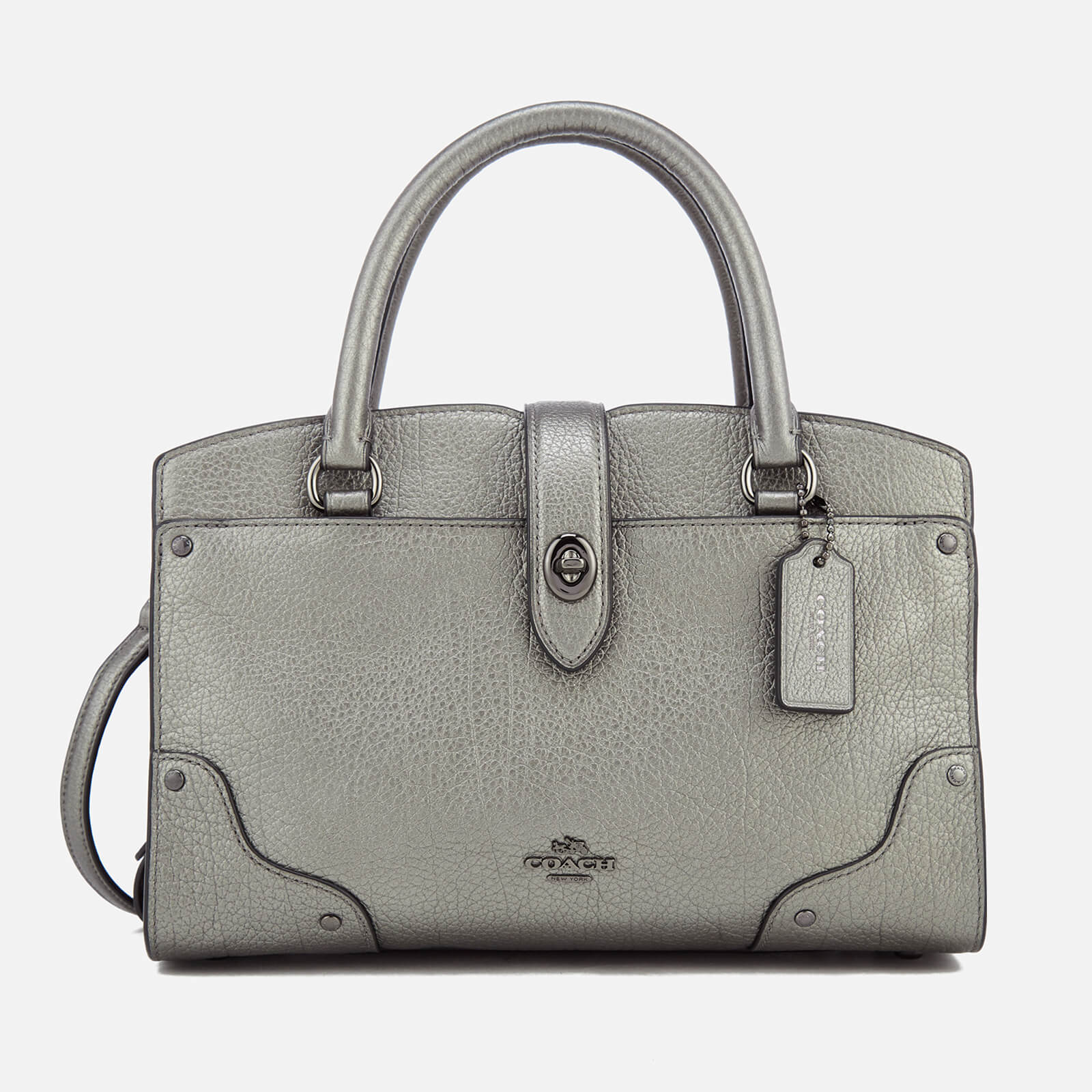 15c76553aed Coach Women's Mercer Tote Bag - Gun Metal - Free UK Delivery over £50