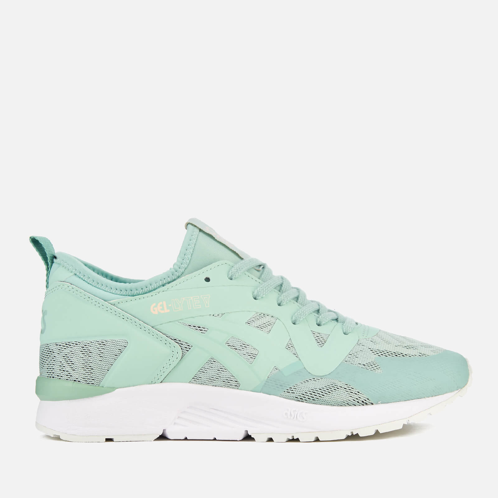 new style fe8f6 eed5c Asics Lifestyle Women s Gel-Lyte V NS Trainers - Gossamer Green Gossamer  Green - Free UK Delivery over £50