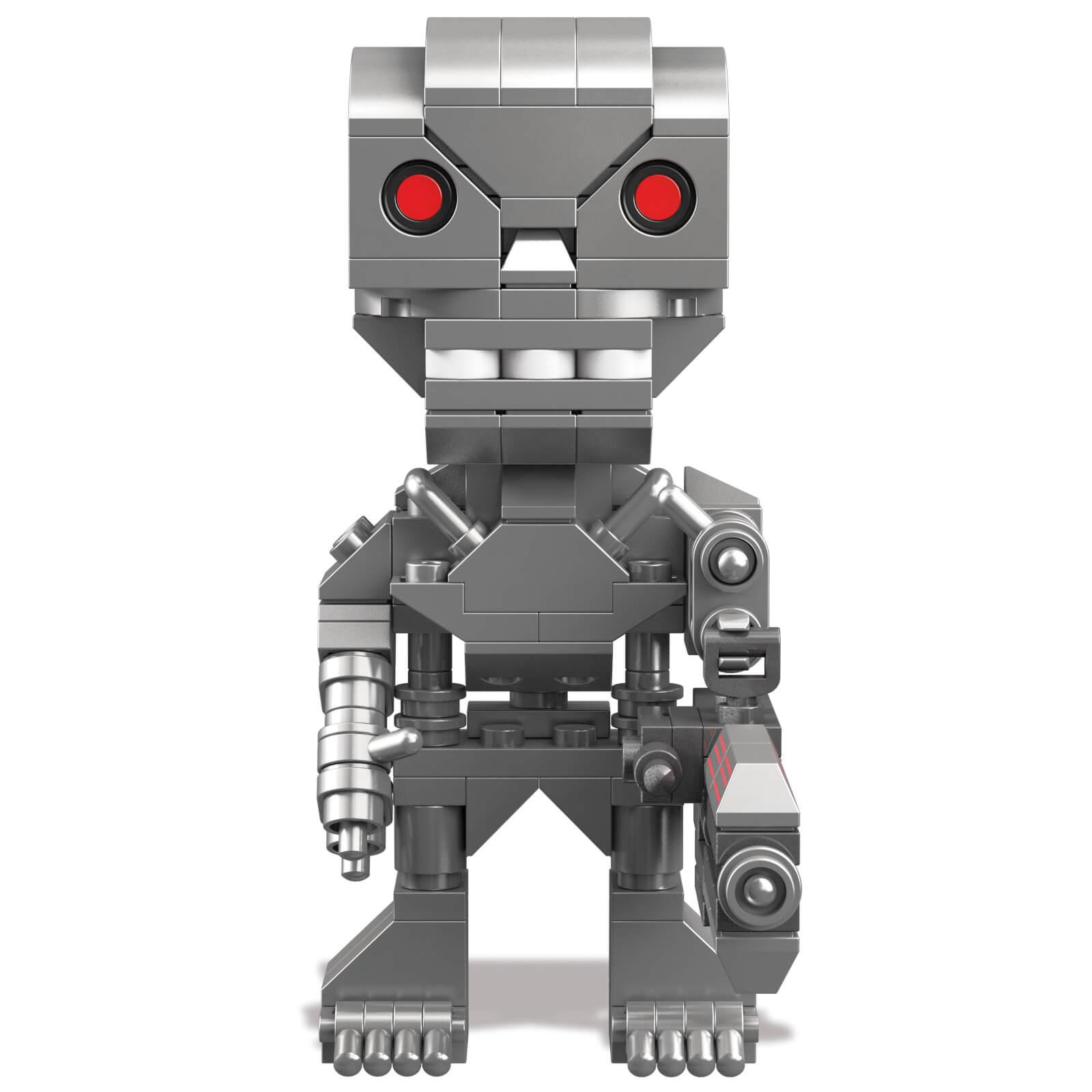 Mega Figurine Bloks Kubros Terminator T 800 hdsCQtrxB