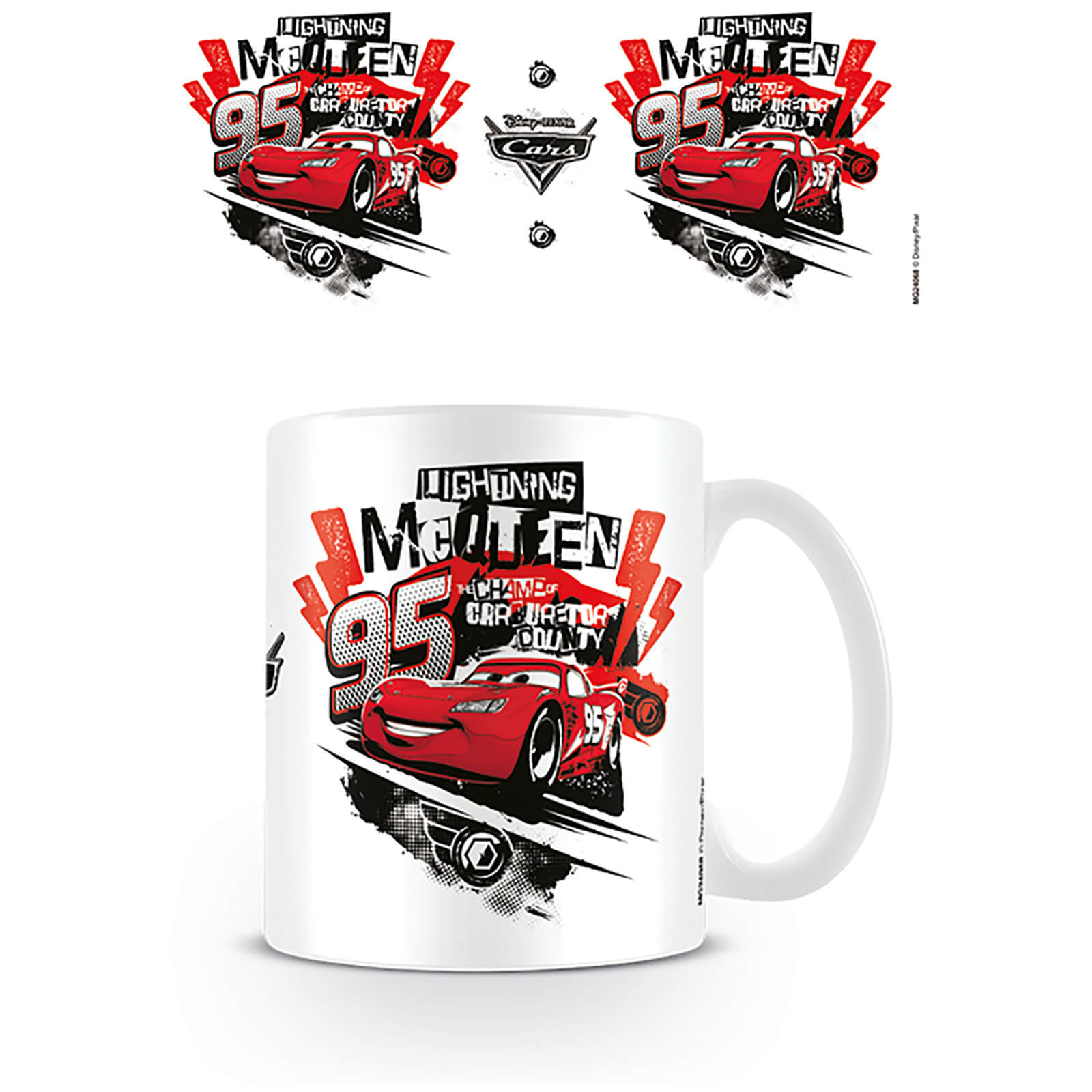 Cars Disney Pixar Coffee Mug (Cars Champs)