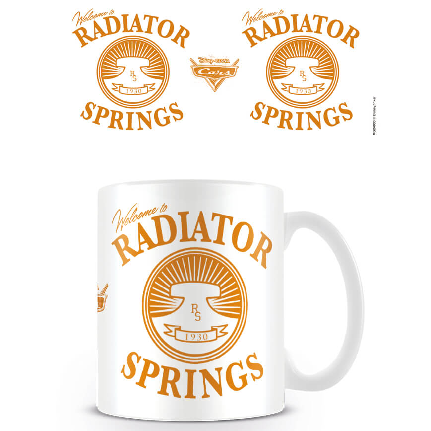 Cars Disney Pixar Coffee Mug (Cars Radiator Springs)