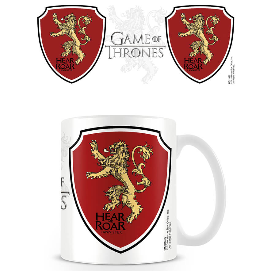 Game of Thrones Coffee Mug (Lannister)