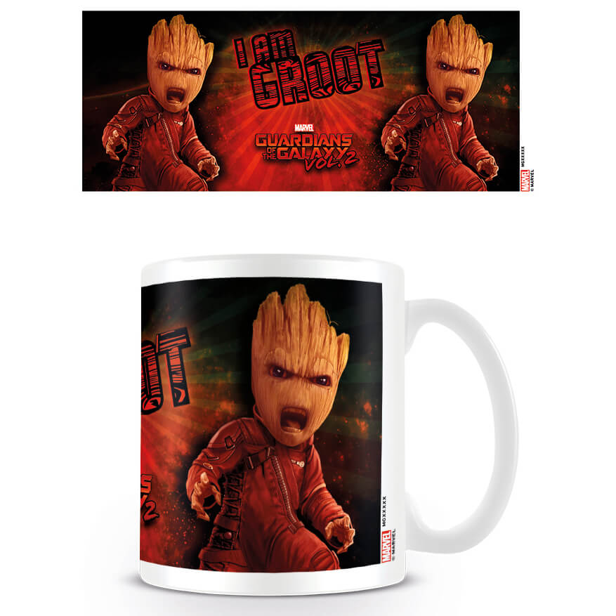 Guardians of the Galaxy 2 Coffee Mug (Angry Groot)